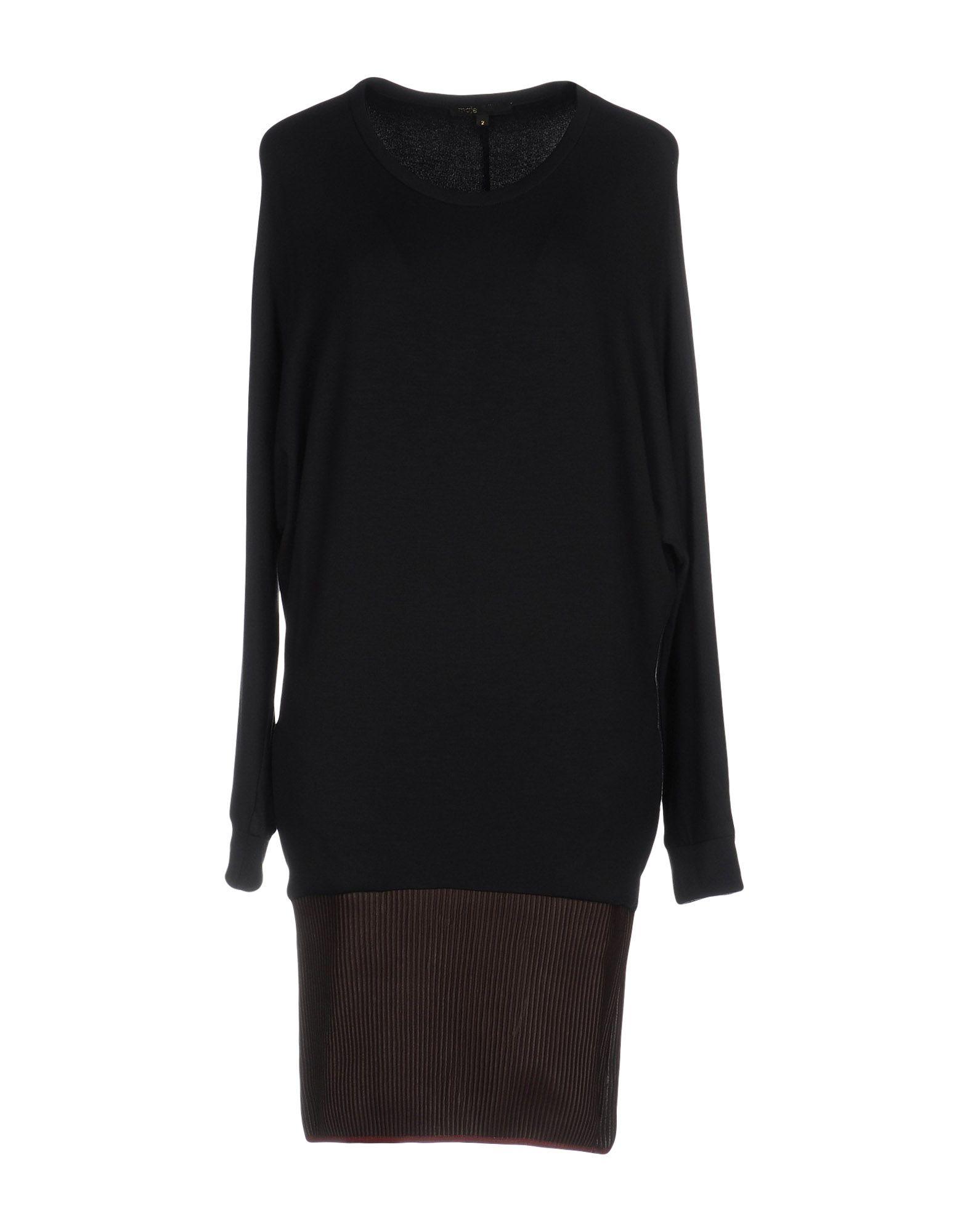 MAJE Damen Kurzes Kleid Farbe Dunkelblau Größe 3