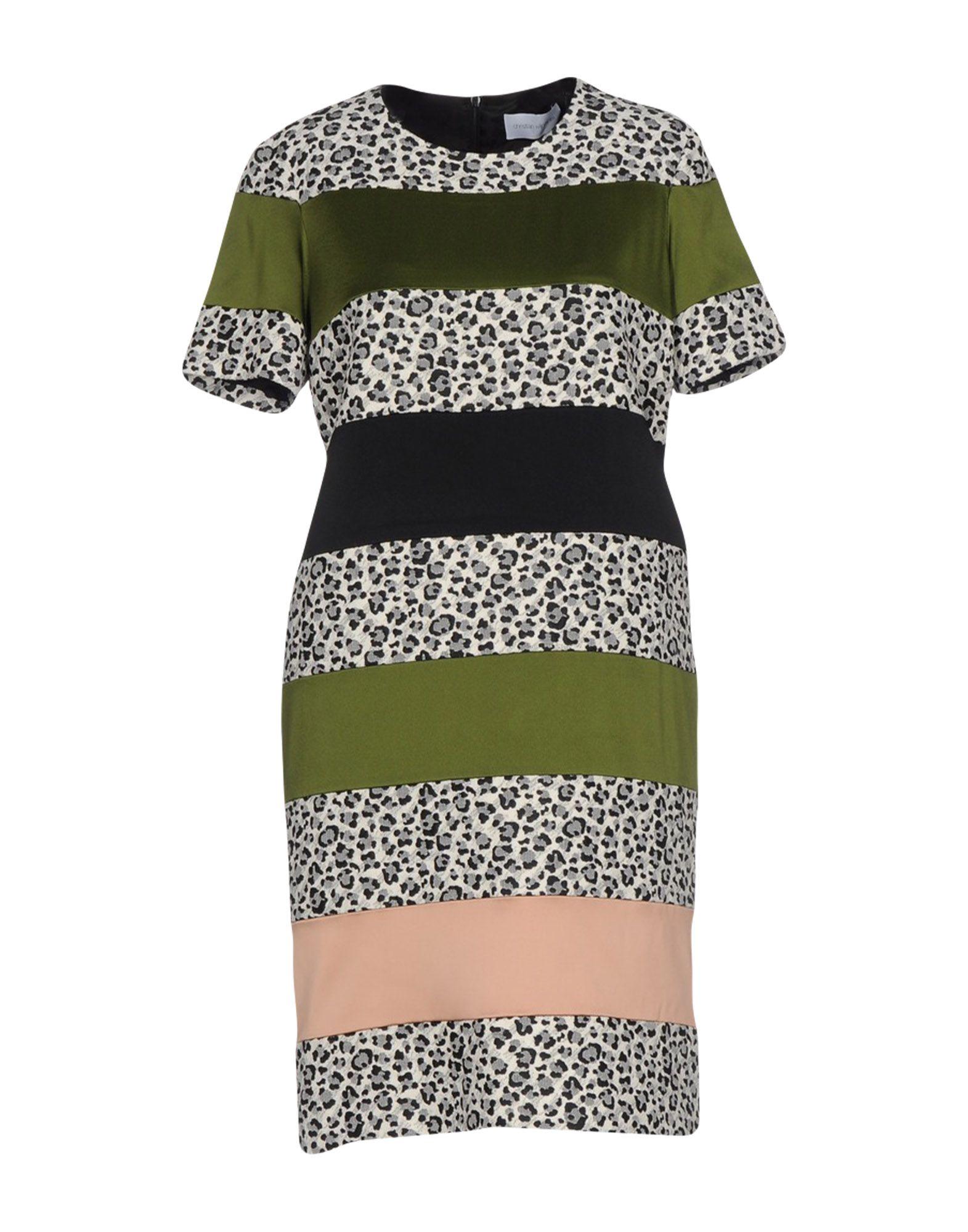 цена  CHRISTIAN WIJNANTS Короткое платье  онлайн в 2017 году