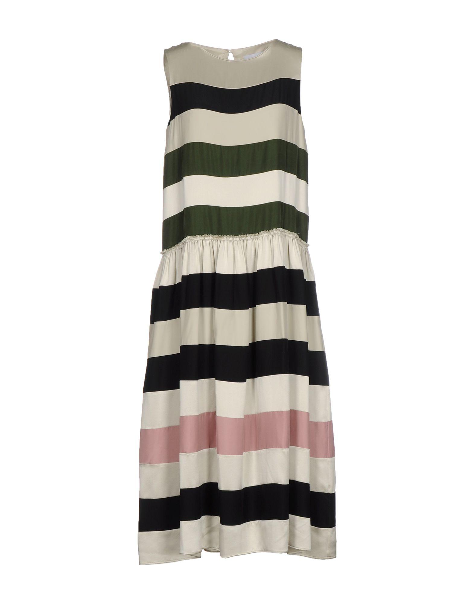 цена  CHRISTIAN WIJNANTS Платье длиной 3/4  онлайн в 2017 году