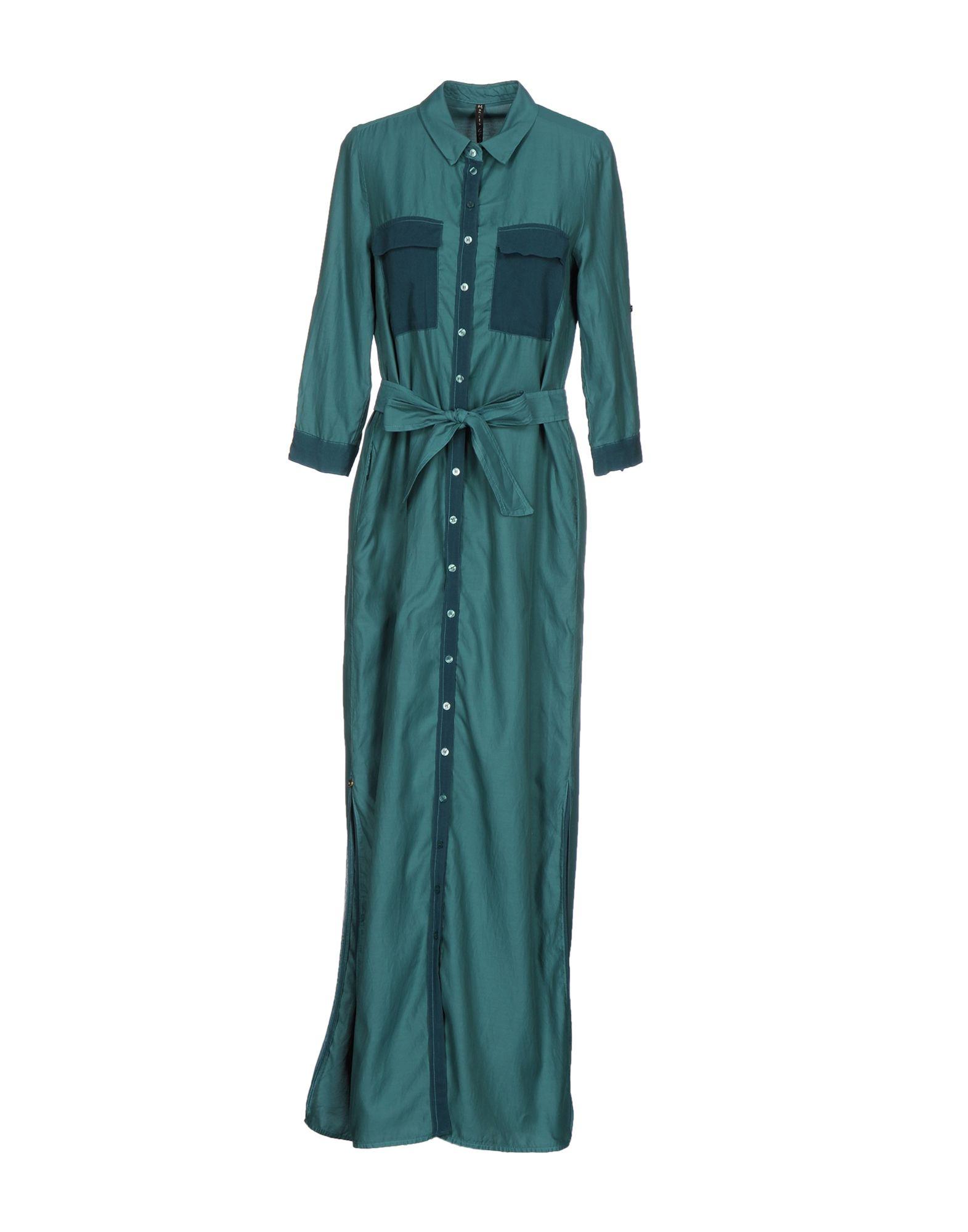 MANILA GRACE Длинное платье платье рубашка fox yulia sway платье рубашка fox