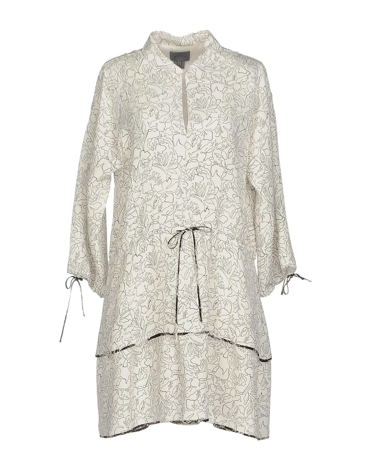 MAIYET Короткое платье maiyet платье до колена