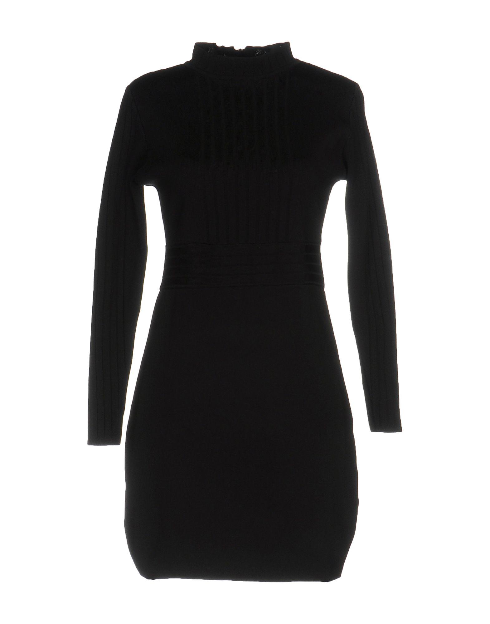 DANIELA FARGION Короткое платье цены онлайн