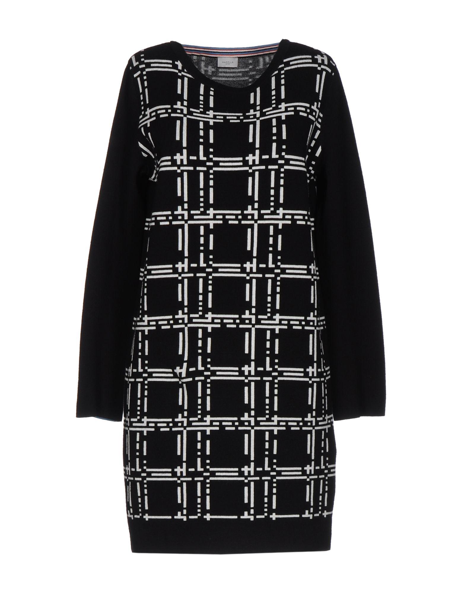 цена MARELLA SPORT Короткое платье онлайн в 2017 году