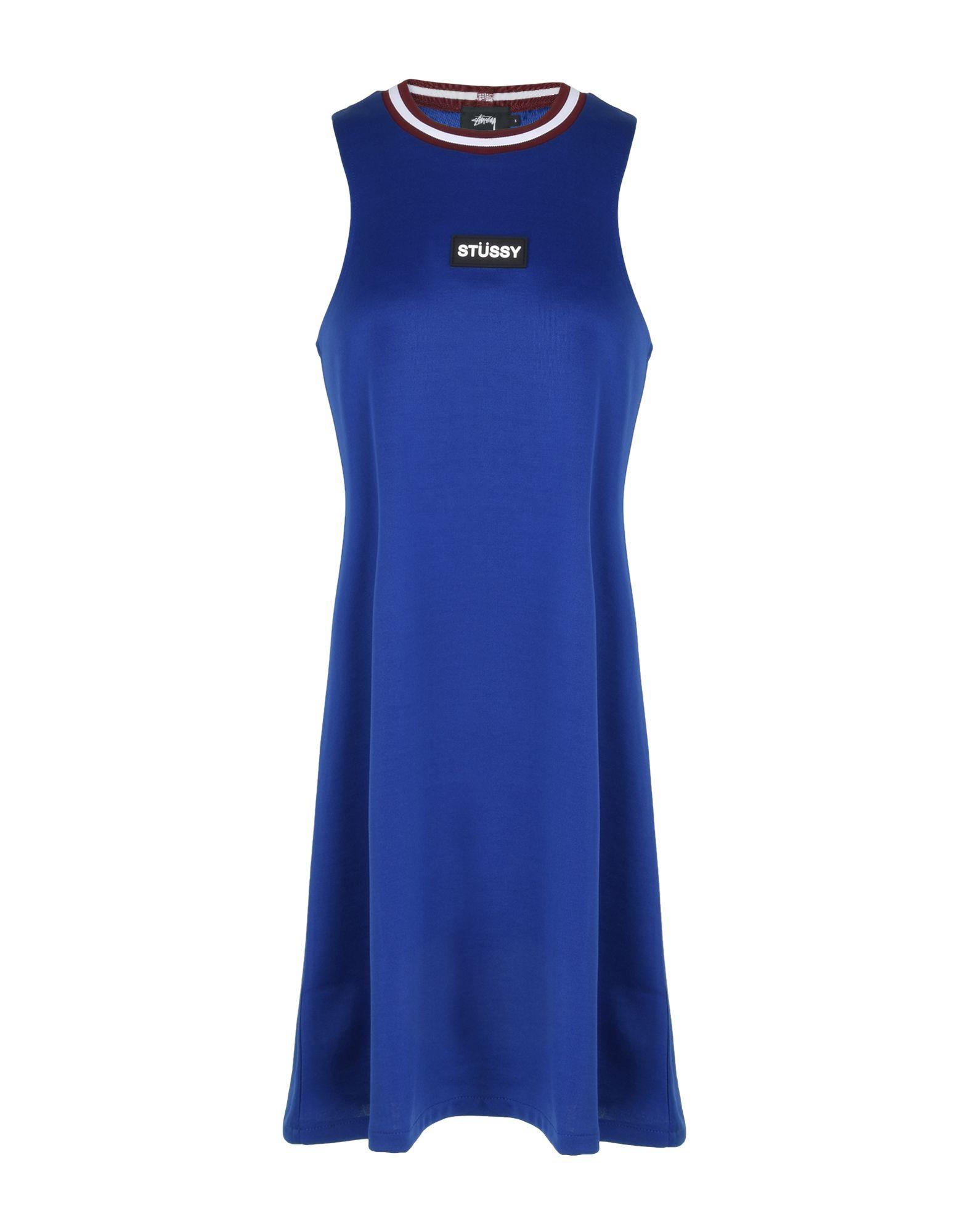 цена STUSSY Короткое платье онлайн в 2017 году