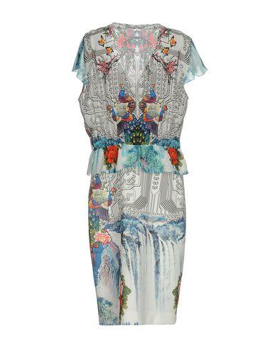 Фото 2 - Платье до колена белого цвета