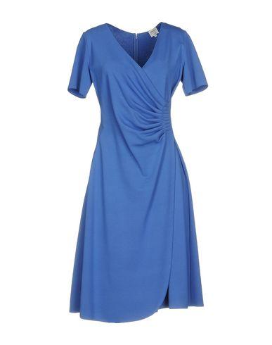 Купить Платье до колена ярко-синего цвета