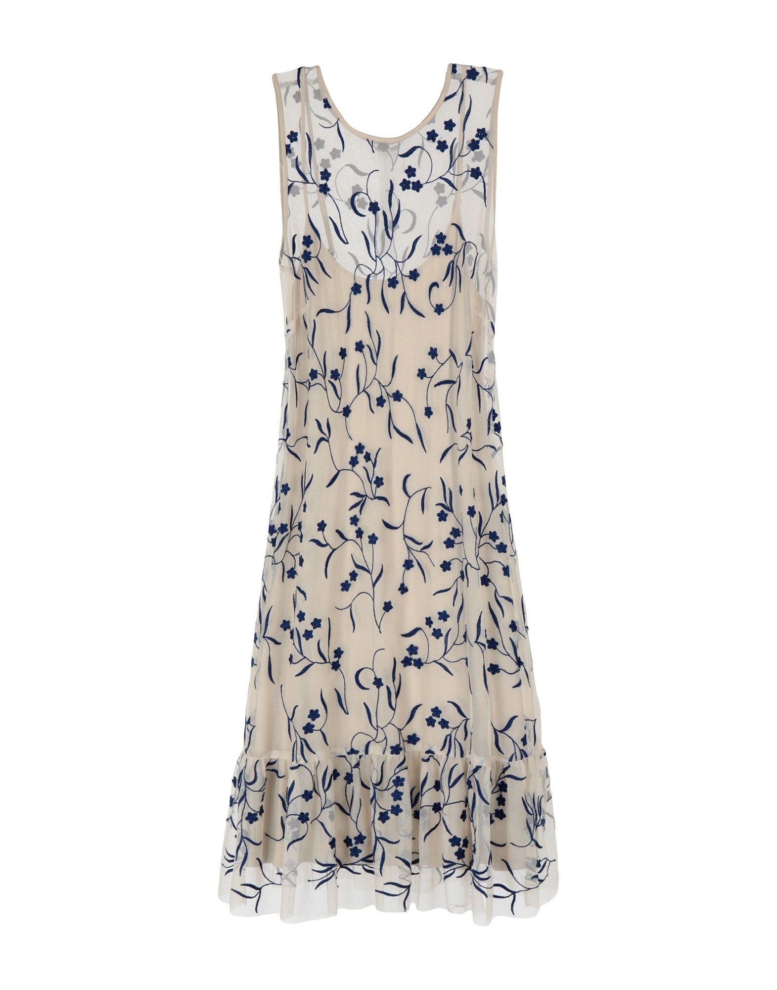 TWIN-SET JEANS Короткое платье цена 2017