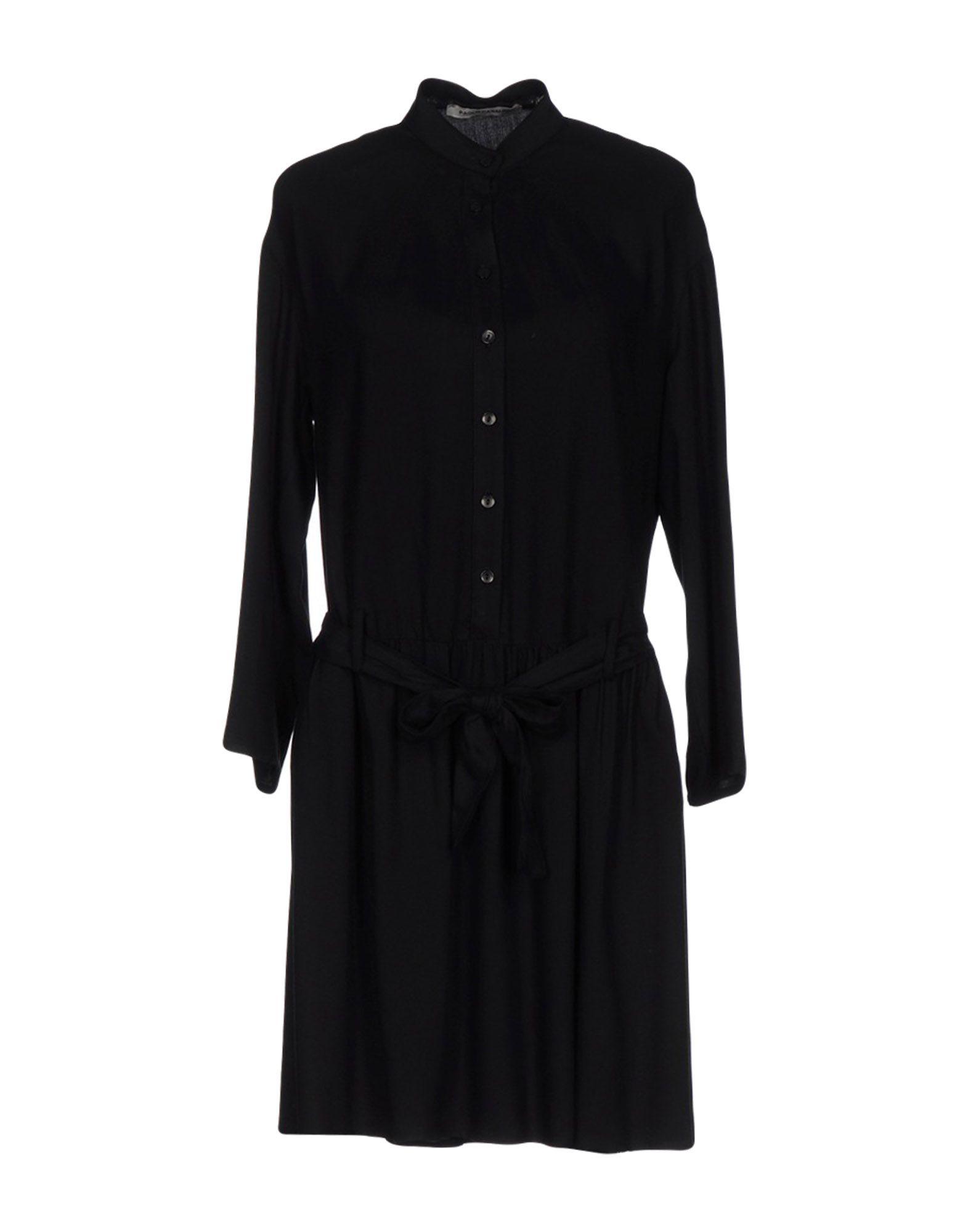 PAOLO CASALINI Короткое платье брюки paolo casalini цвет чёрный