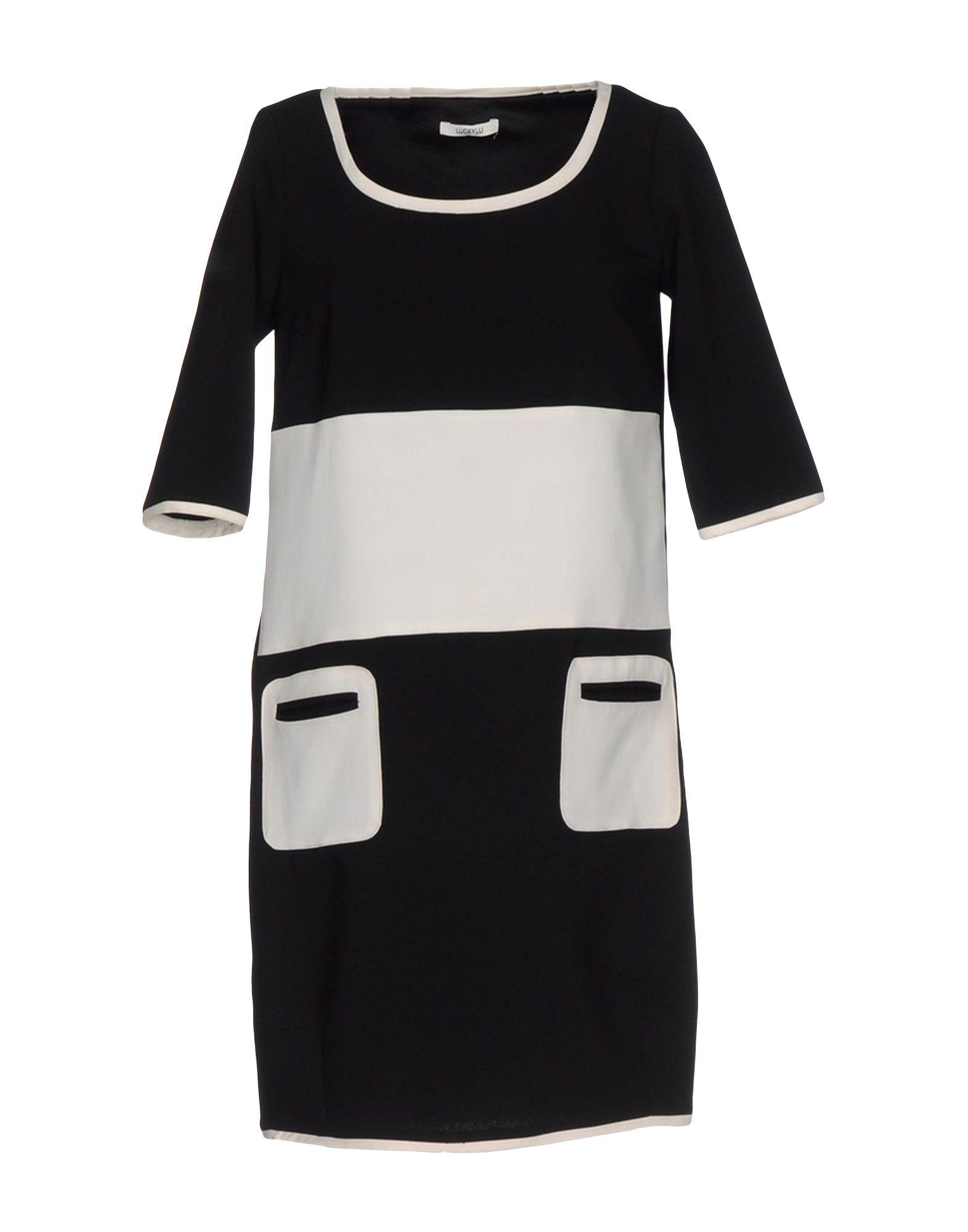 LUCKY LU Milano Короткое платье все цены