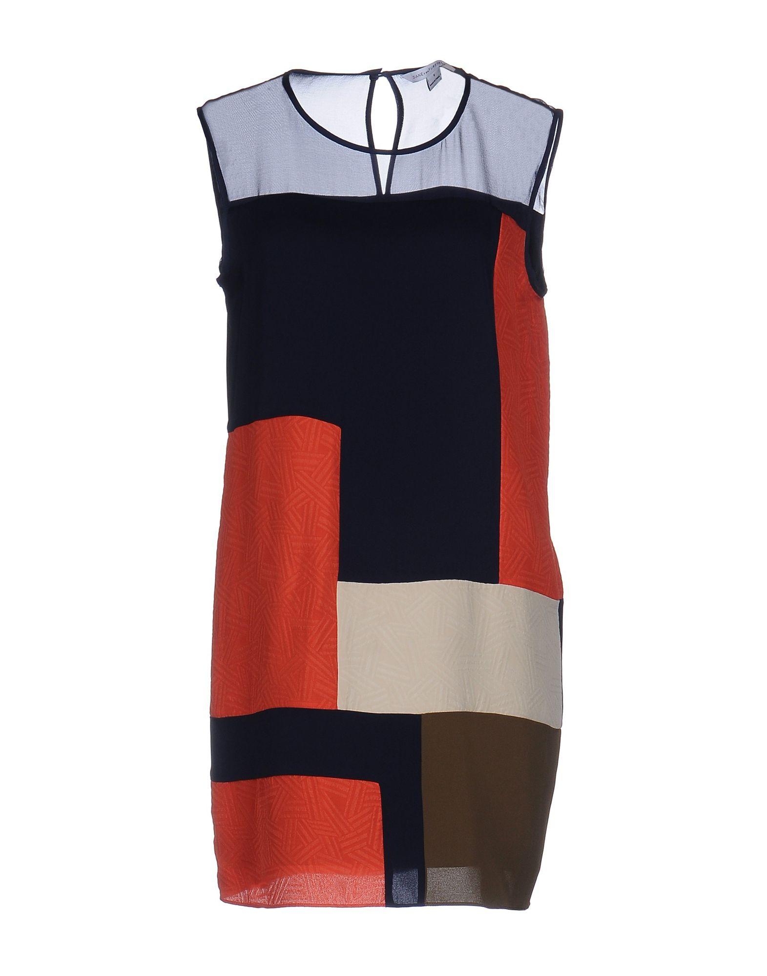 DIANE VON FURSTENBERG Короткое платье