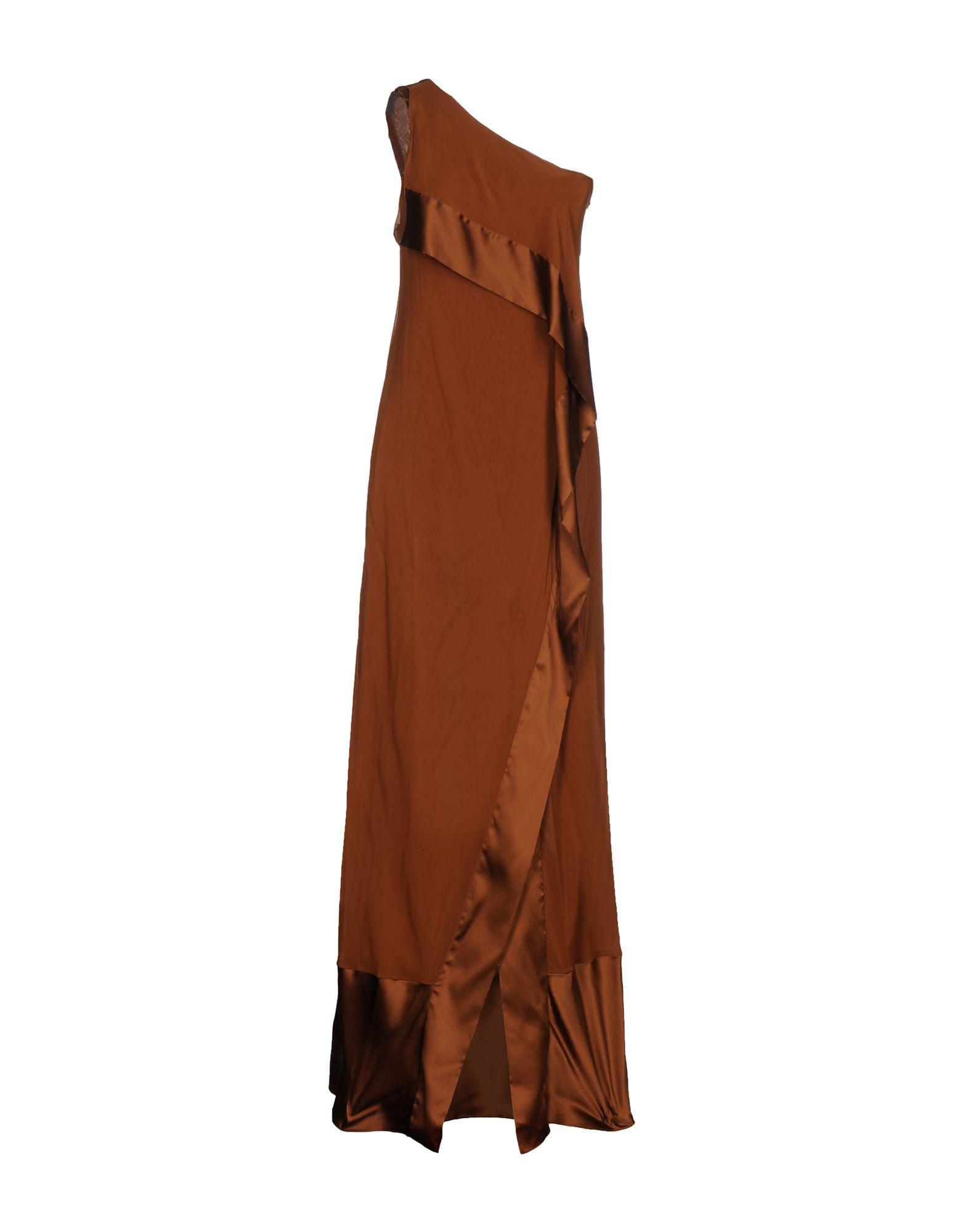 DONNA KARAN Длинное платье цены