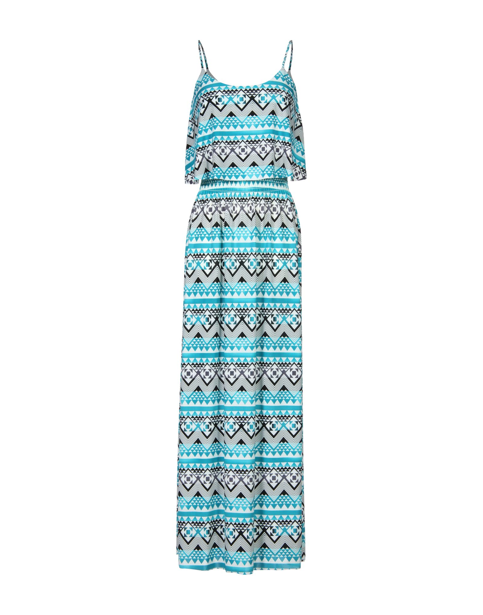 TBAGSLOSANGELES Long Dress in Turquoise