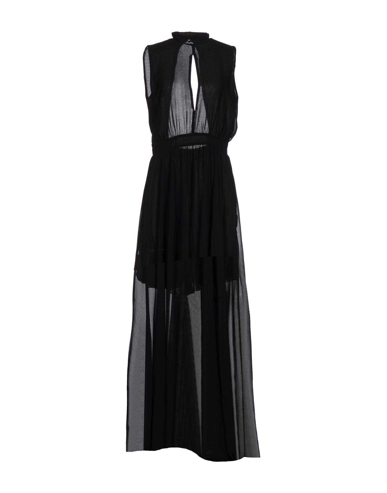 《期間限定セール開催中!》LADY CHOCOPIE レディース ロングワンピース&ドレス ブラック S 100% ポリエステル