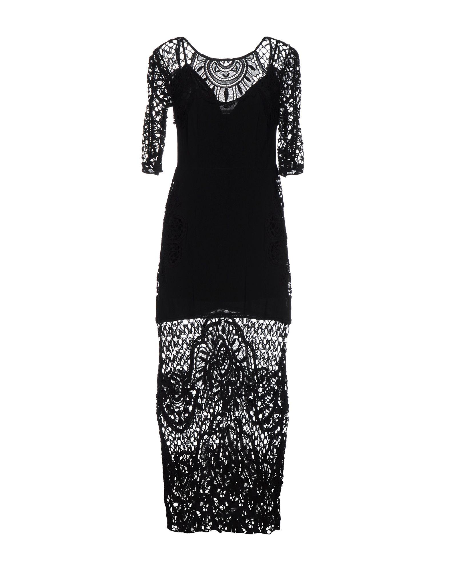 купить FOR LOVE & LEMONS Длинное платье по цене 9900 рублей