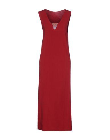 Фото - Платье длиной 3/4 от TWINSET цвет пурпурный