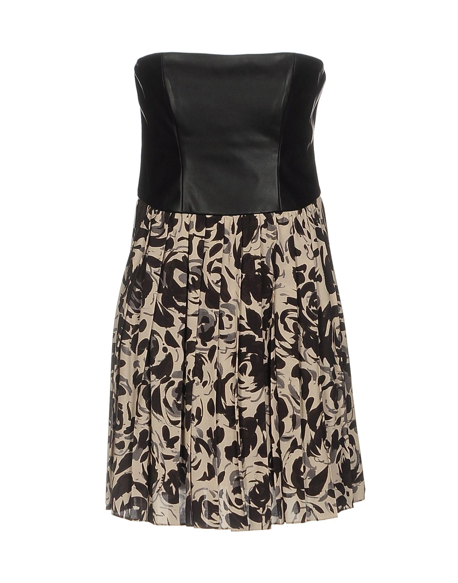 LES COCKTAILS DE LIU •JO Короткое платье les cocktails de liu •jo длинное платье
