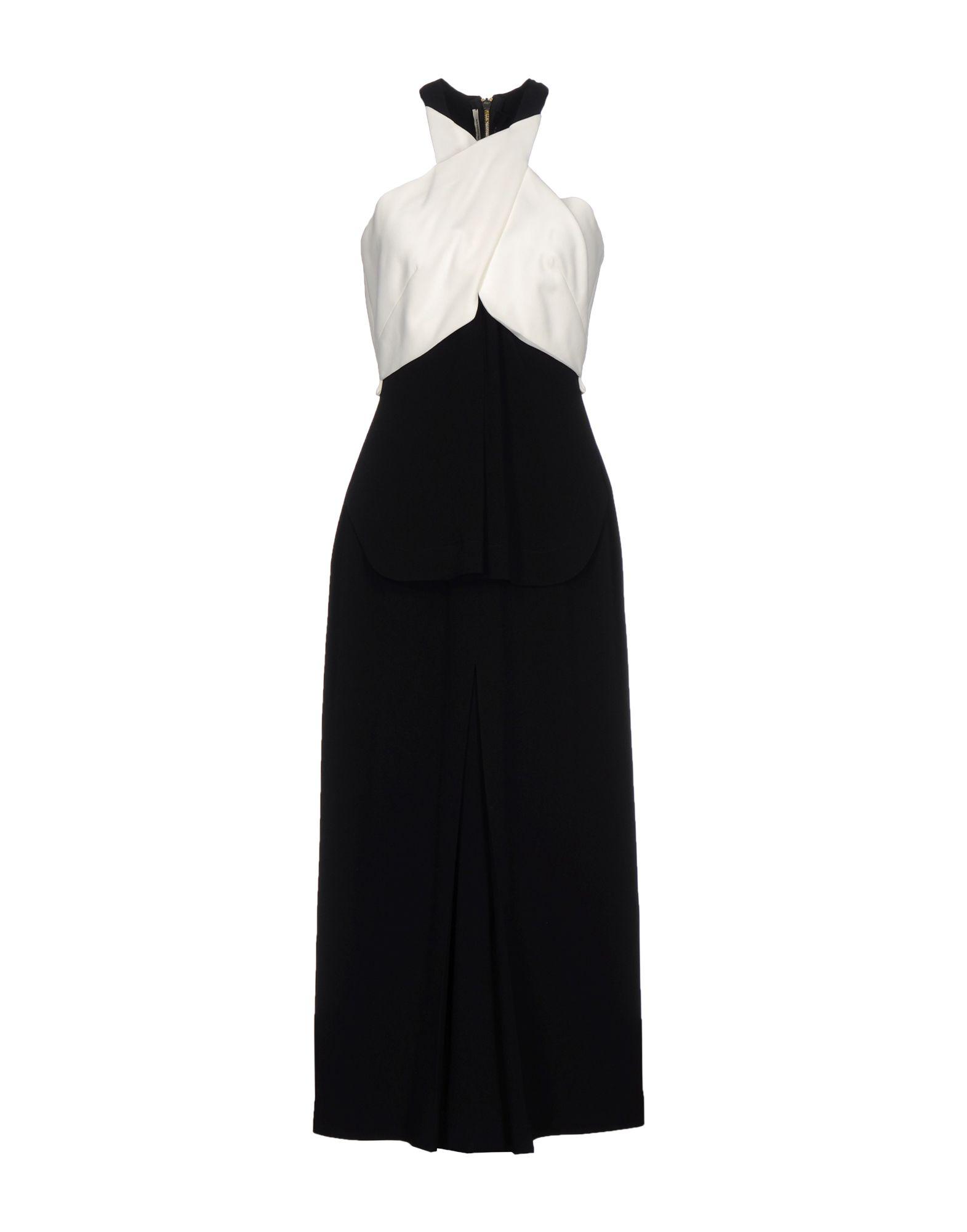 ROLAND MOURET Платье длиной 3/4 roland mouret платье футляр бирюзового цвета