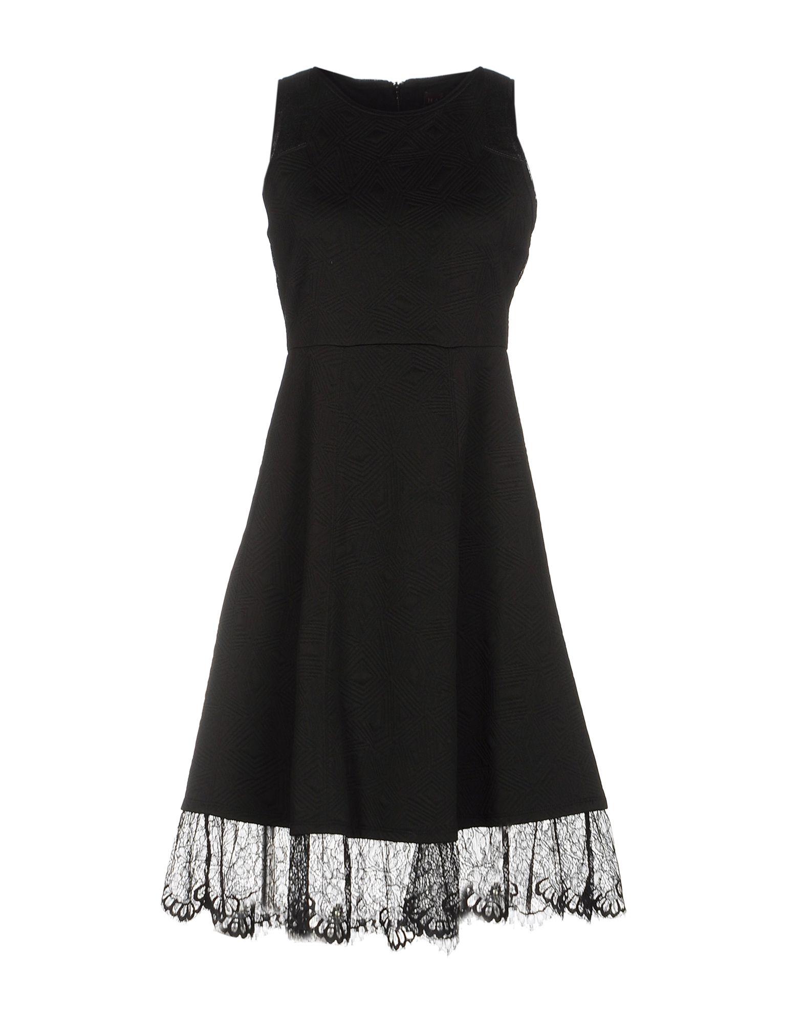 HALE BOB Платье до колена платье без рукавов с кружевной вставкой на спинке
