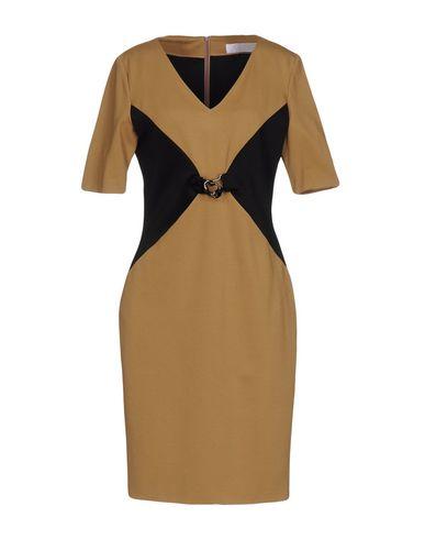 CLIPS MORE Платье до колена платье patrizia pepe платья и сарафаны приталенные