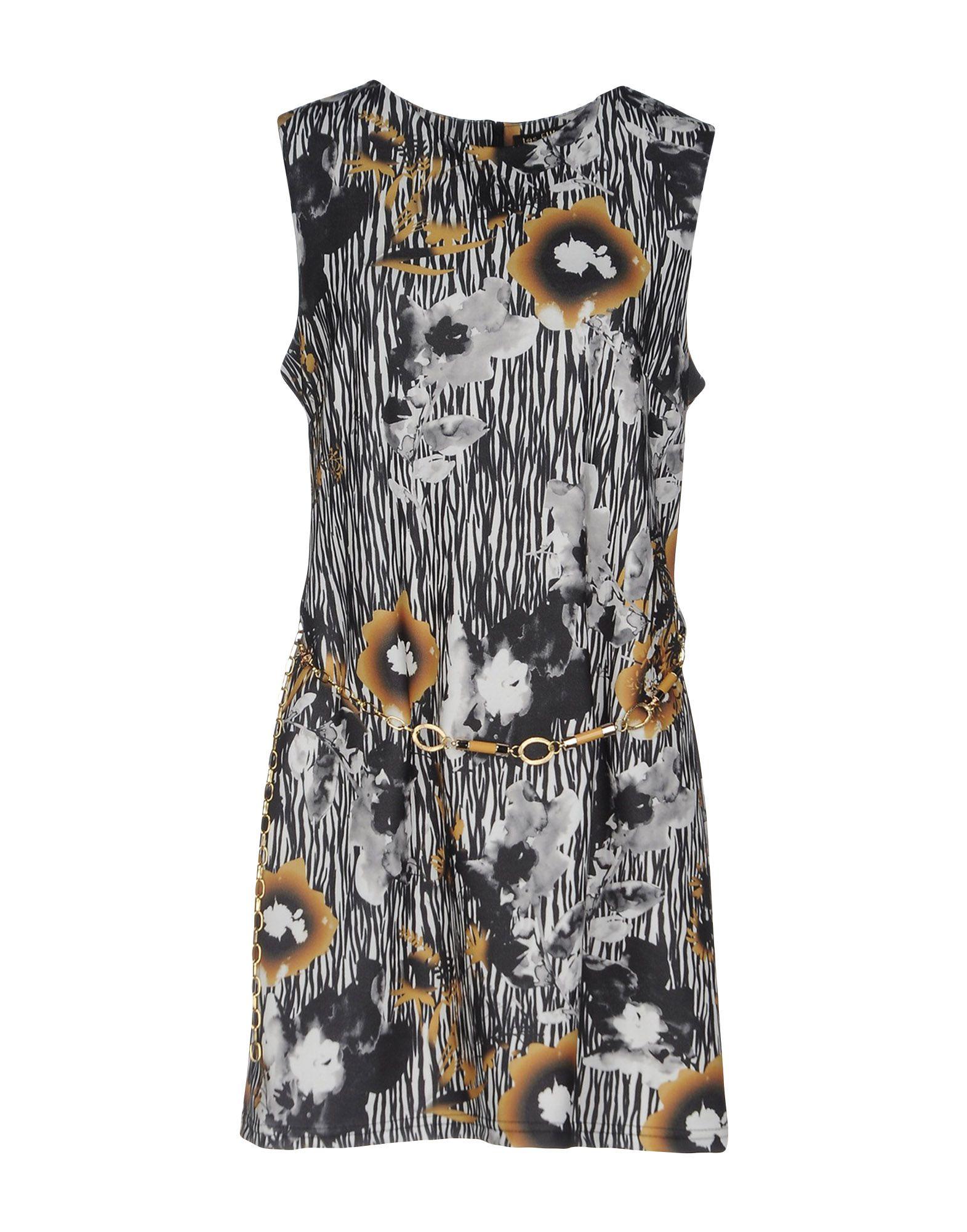 LES FILLES Damen Kurzes Kleid Farbe Schwarz Größe 5
