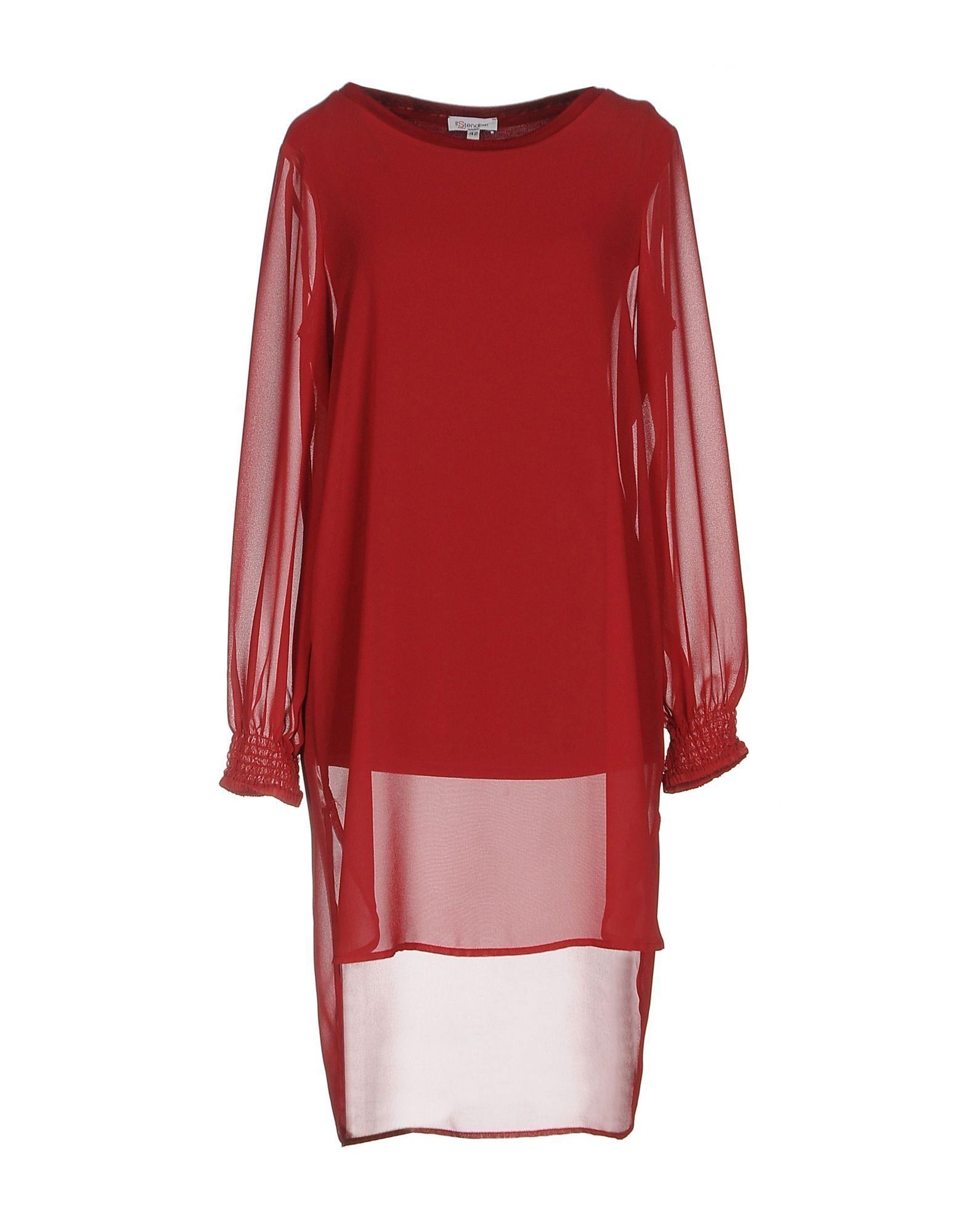 цена VIA STENDHAL  Roma Короткое платье онлайн в 2017 году