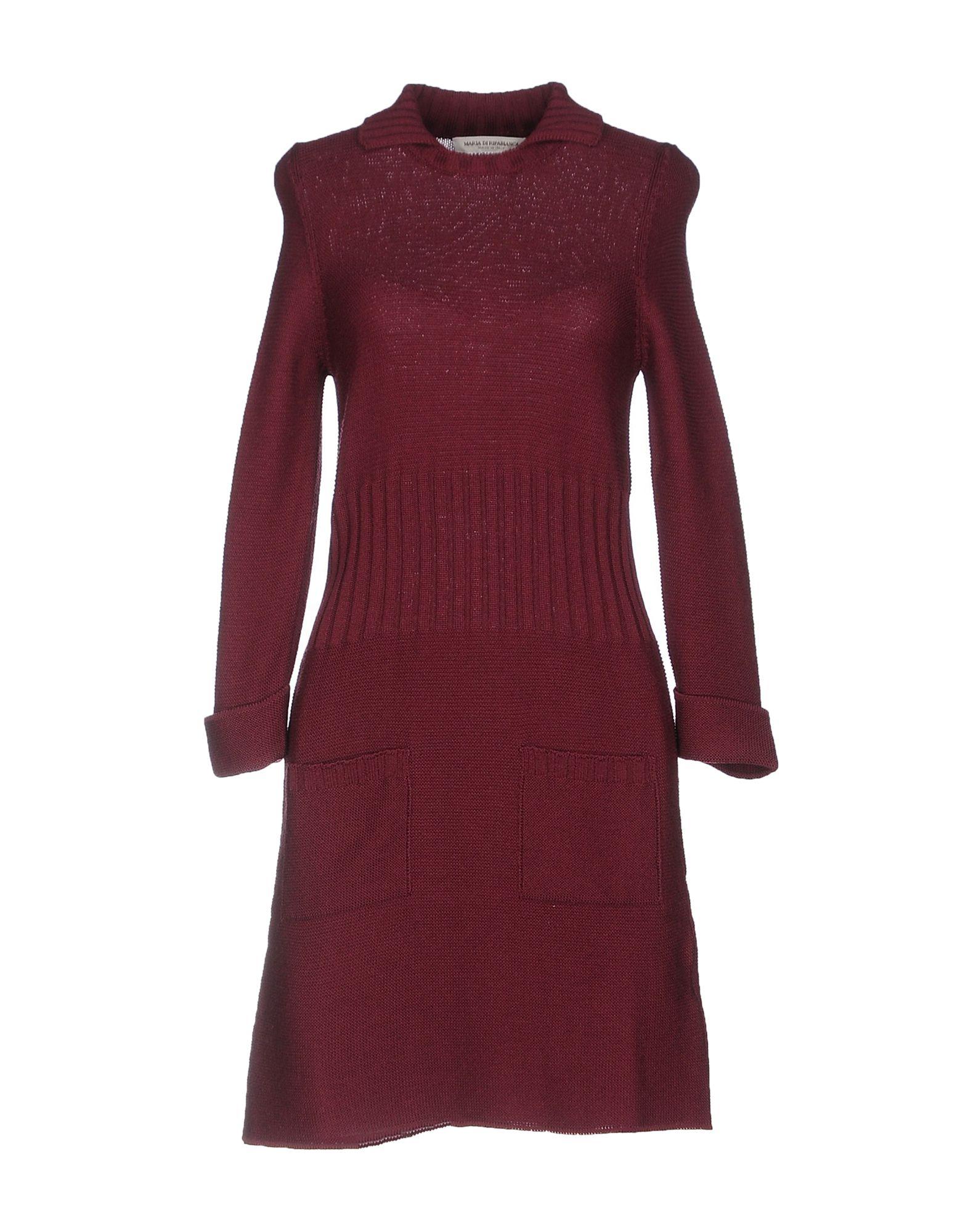 MARIA DI RIPABIANCA Короткое платье цена 2017