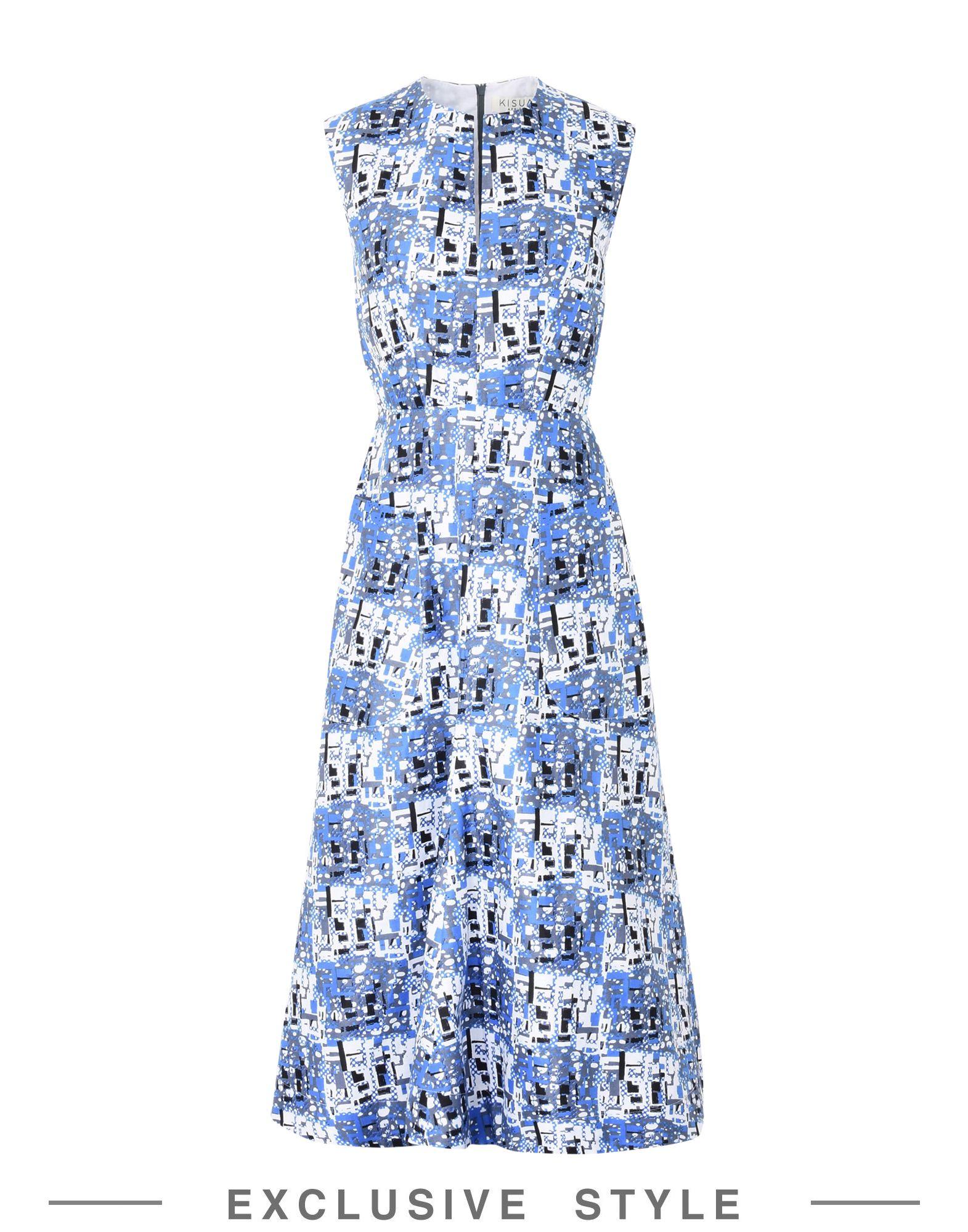 KISUA Платье длиной 3/4 lisa corti платье длиной 3 4