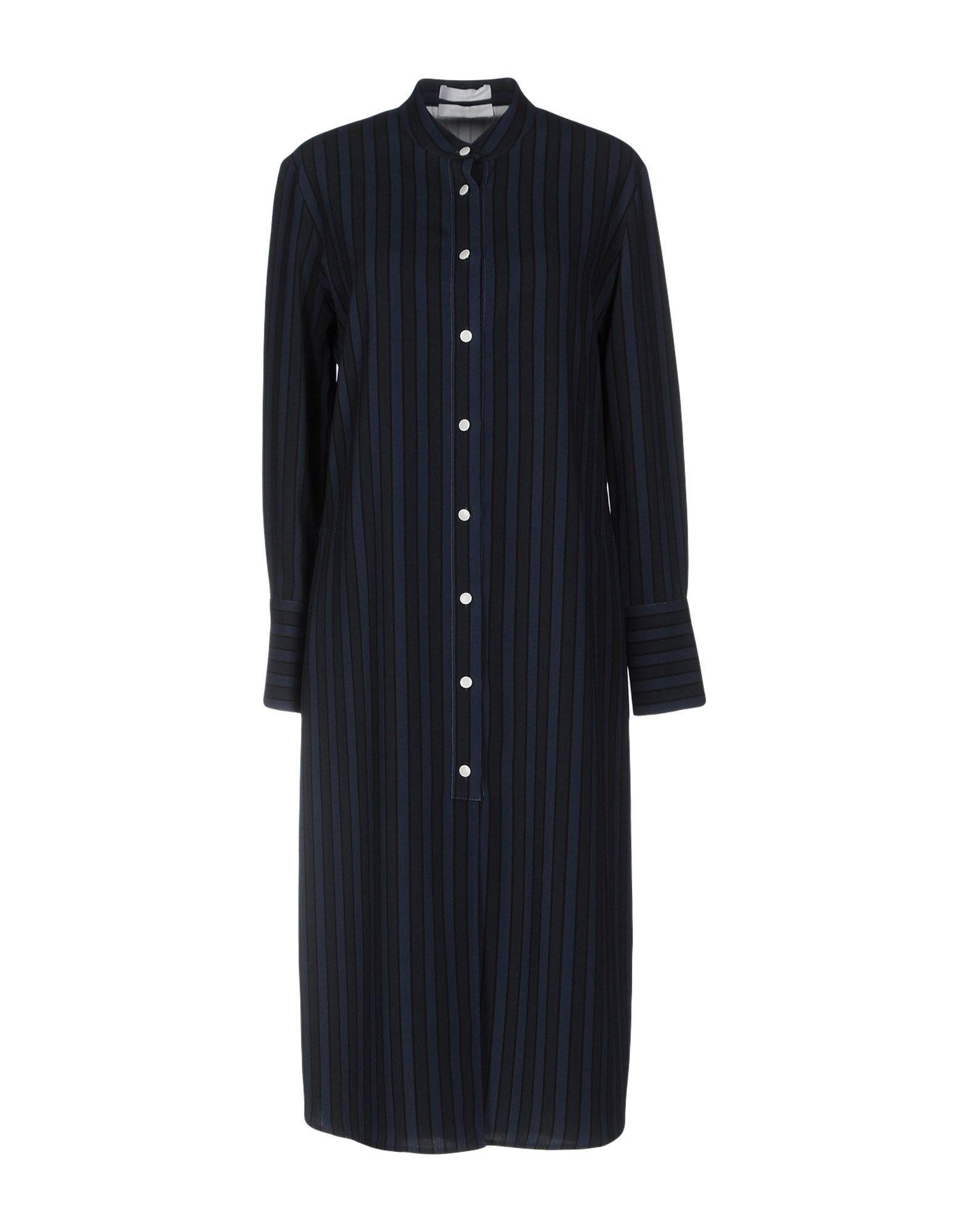 ATEA OCEANIE Knee-Length Dress in Dark Blue