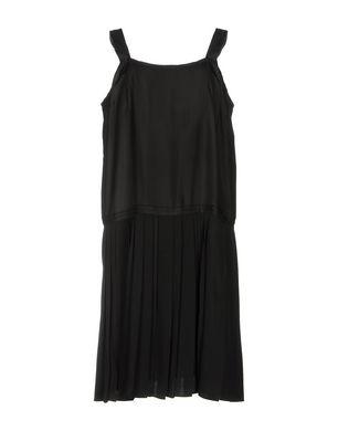 MAISON MARGIELA Damen Knielanges Kleid Farbe Schwarz Größe 2