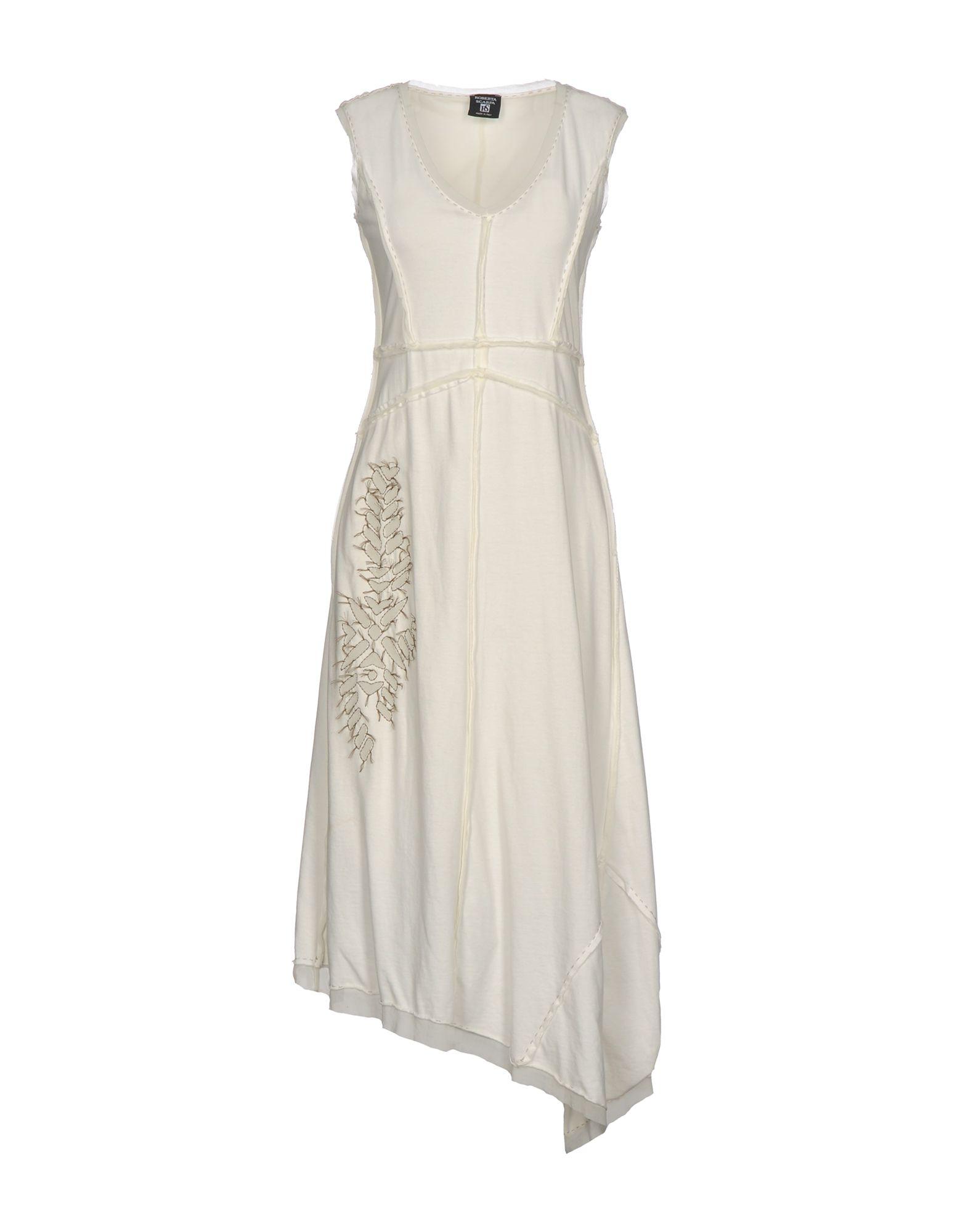 купить ROBERTA SCARPA Платье до колена по цене 10000 рублей