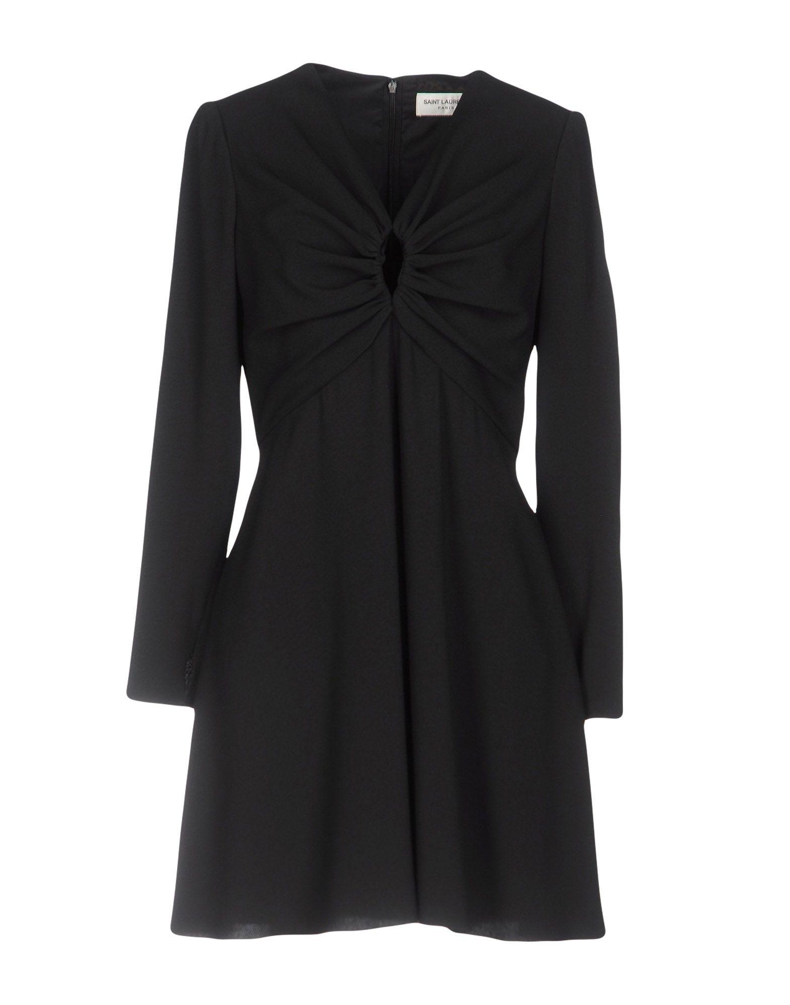 SAINT LAURENT Короткое платье au soleil de saint tropez короткое платье