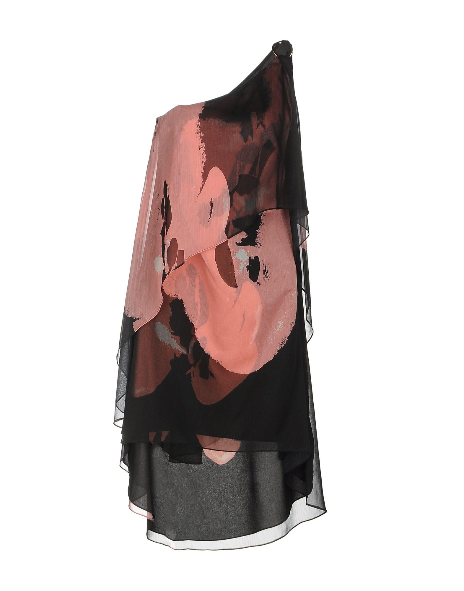 платье halston heritage платья и сарафаны мини короткие HALSTON HERITAGE Платье до колена