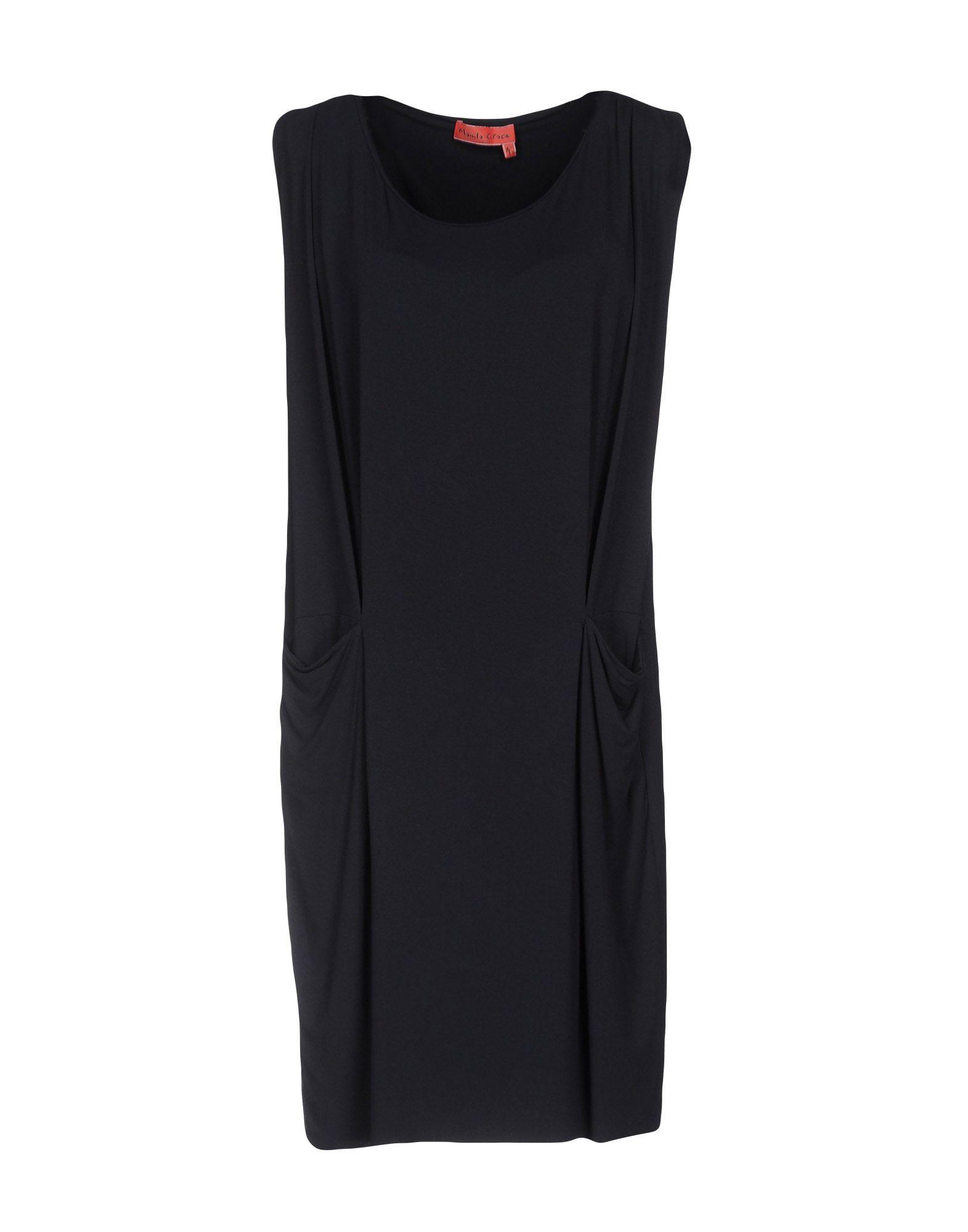 MANILA GRACE DENIM Короткое платье manila grace длинное платье