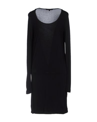 PATRIZIA PEPE Damen Knielanges Kleid Schwarz Größe 32 100% Viskose