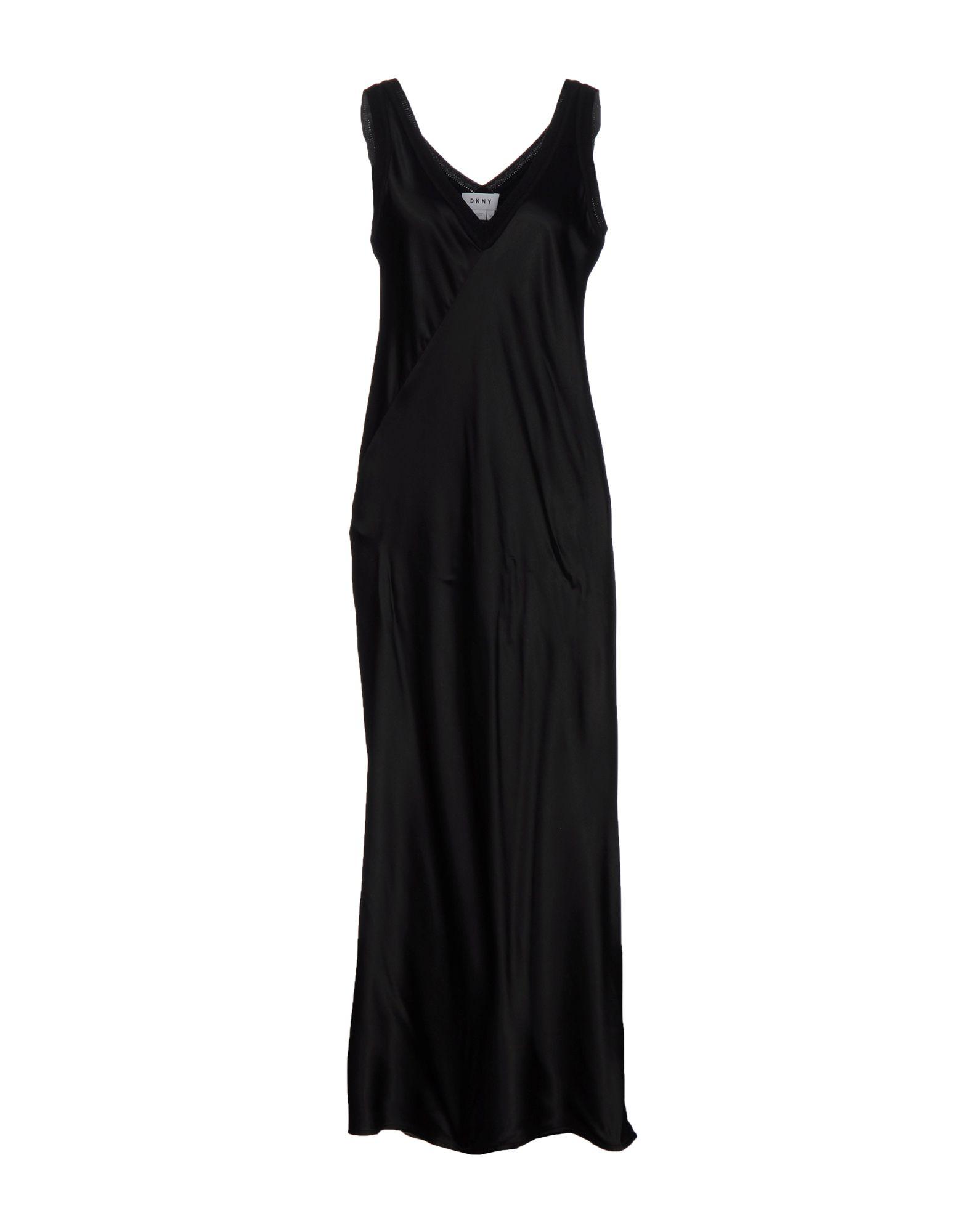 DKNY Длинное платье платье chn dkny dkny