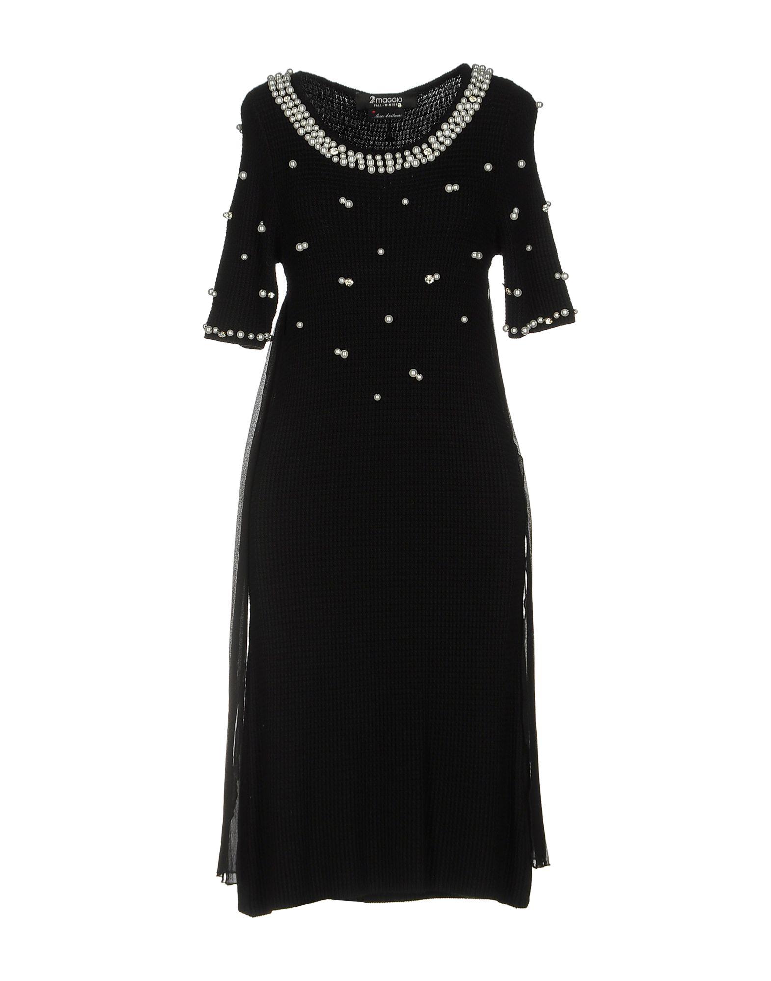 цена  22 MAGGIO by MARIA GRAZIA SEVERI Платье до колена  онлайн в 2017 году