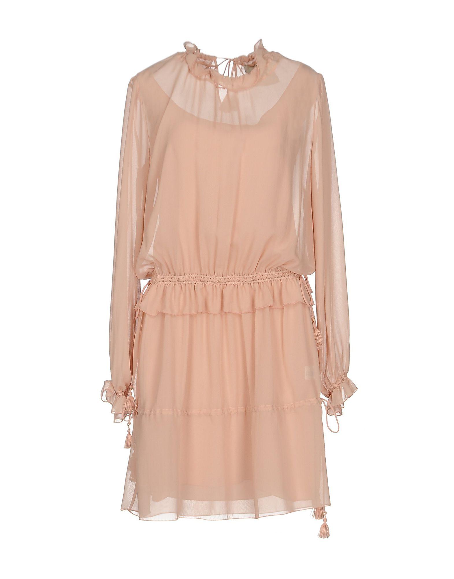 LOLA SWING Damen Kurzes Kleid Farbe Rosa Größe 3