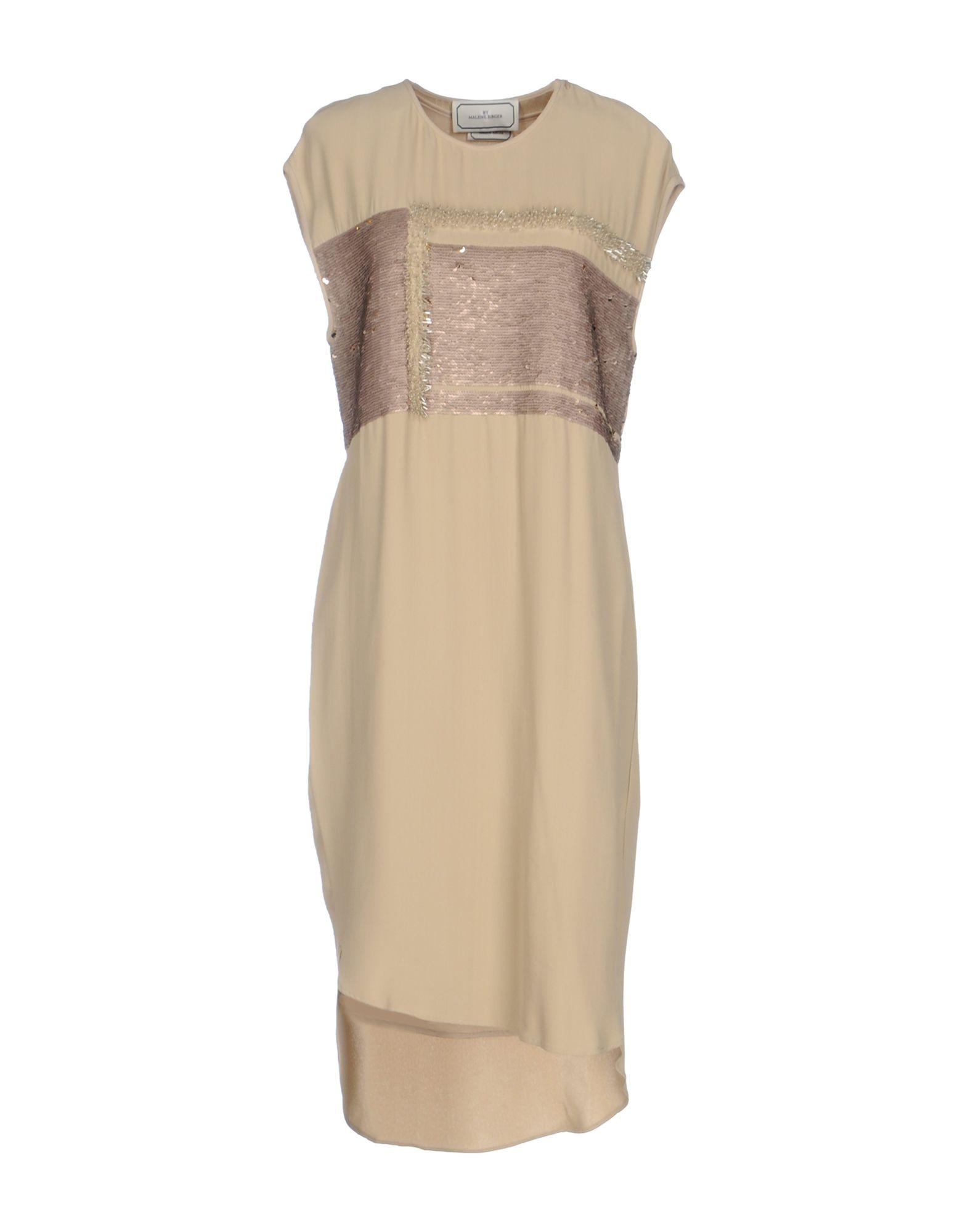 цена BY MALENE BIRGER Платье до колена онлайн в 2017 году