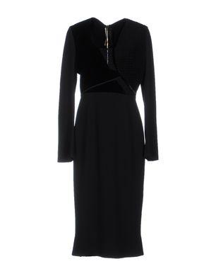 ROLAND MOURET Damen Midikleid Farbe Schwarz Größe 5 Sale Angebote