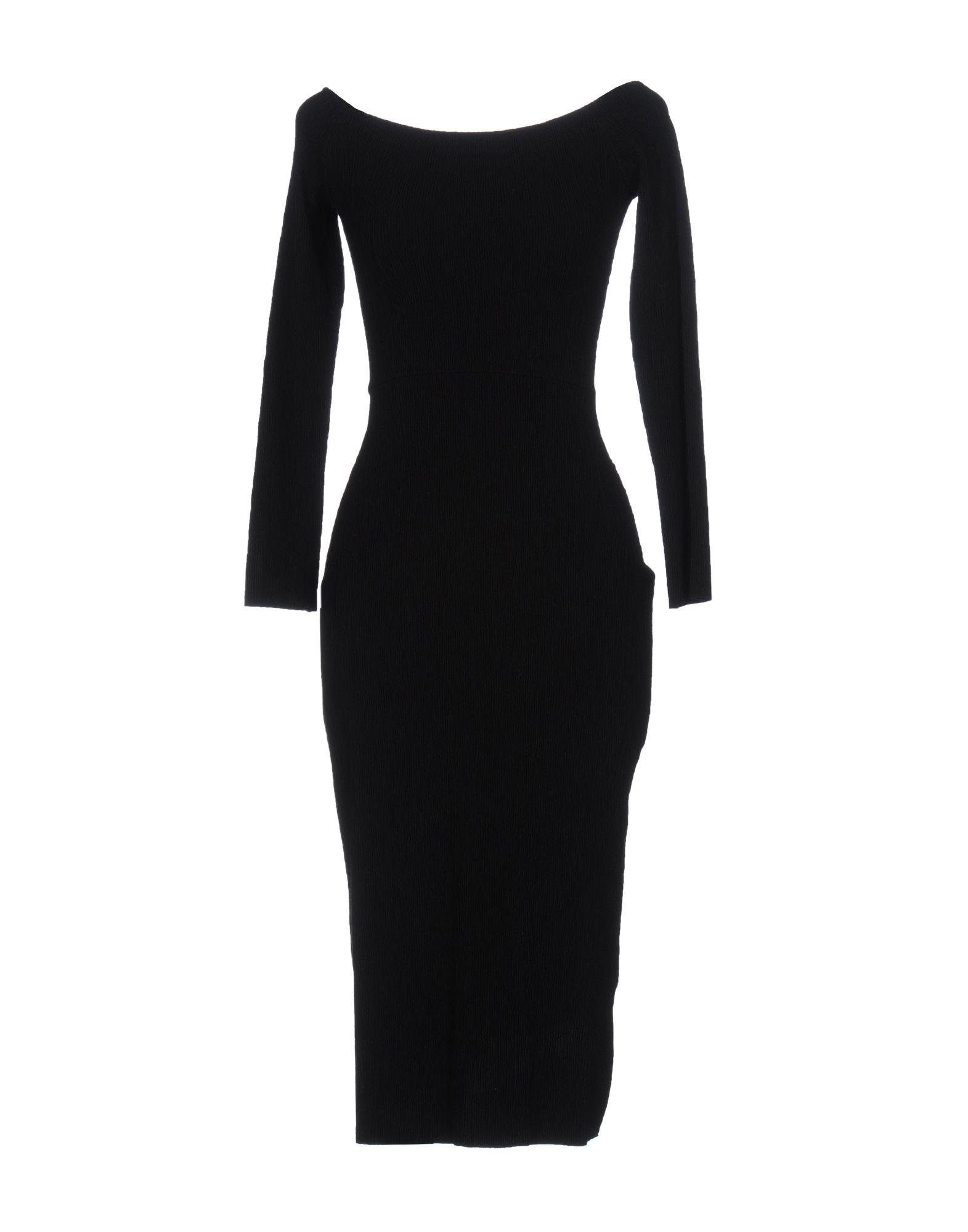 ATEA OCEANIE Knee-Length Dress in Black
