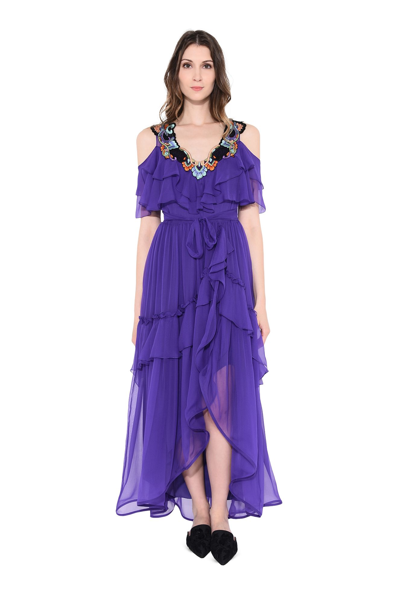 EXÒTICO PURPLE DRESS oppure EXOTIC FLOWER PURPLE DRESS