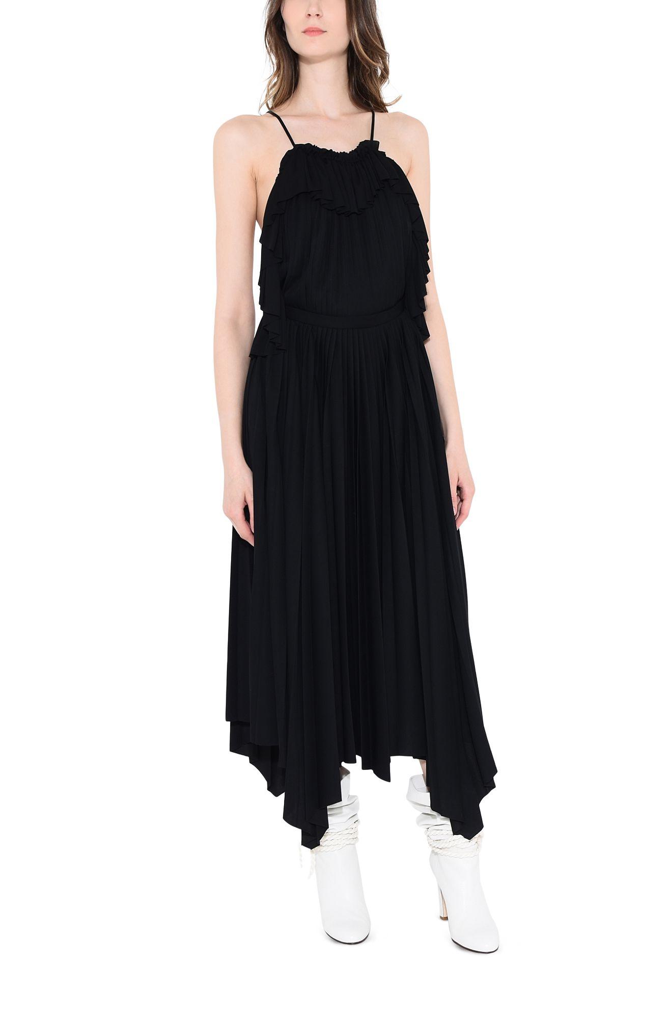 PHILOSOPHY di LORENZO SERAFINI EVENING D CORSAIR BLACK DRESS r