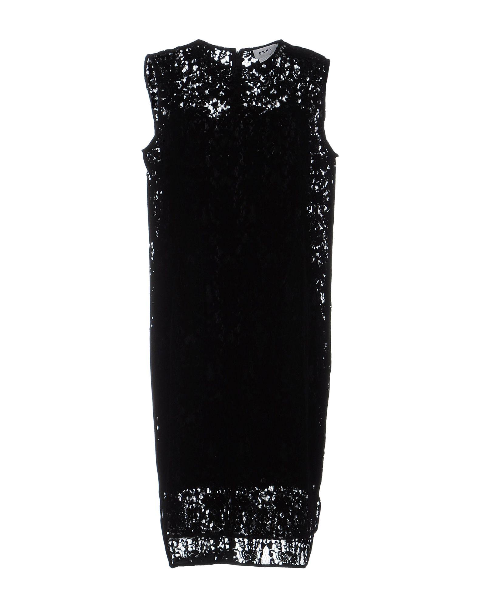 DKNY Платье до колена цена 2017