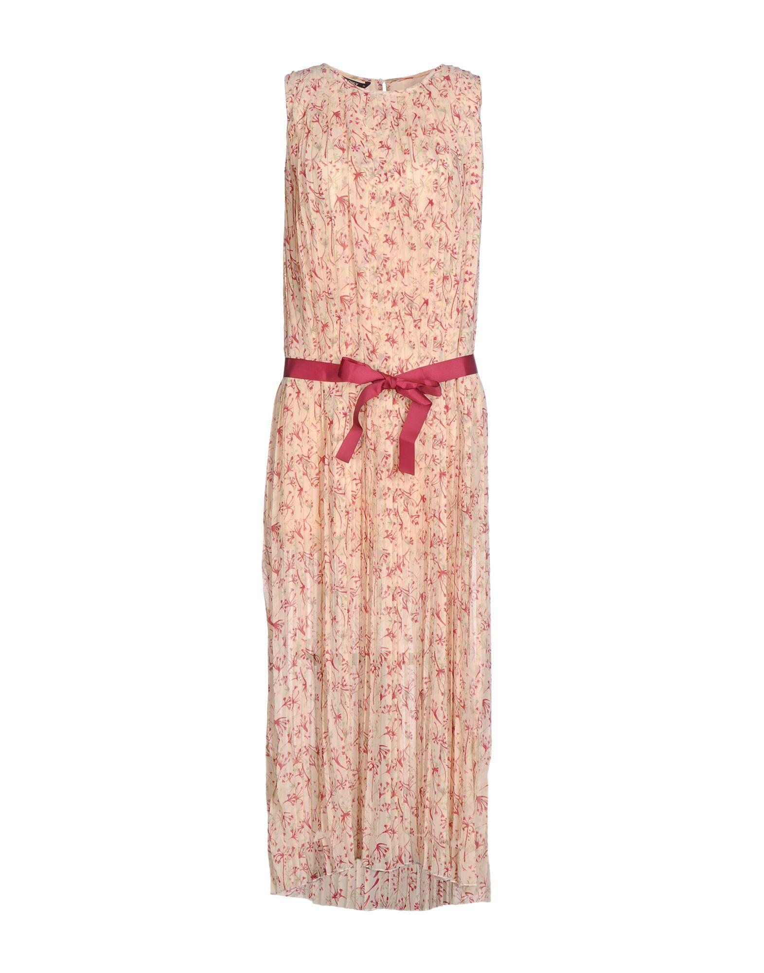 ONLY Damen Langes Kleid Farbe Beige Größe 6