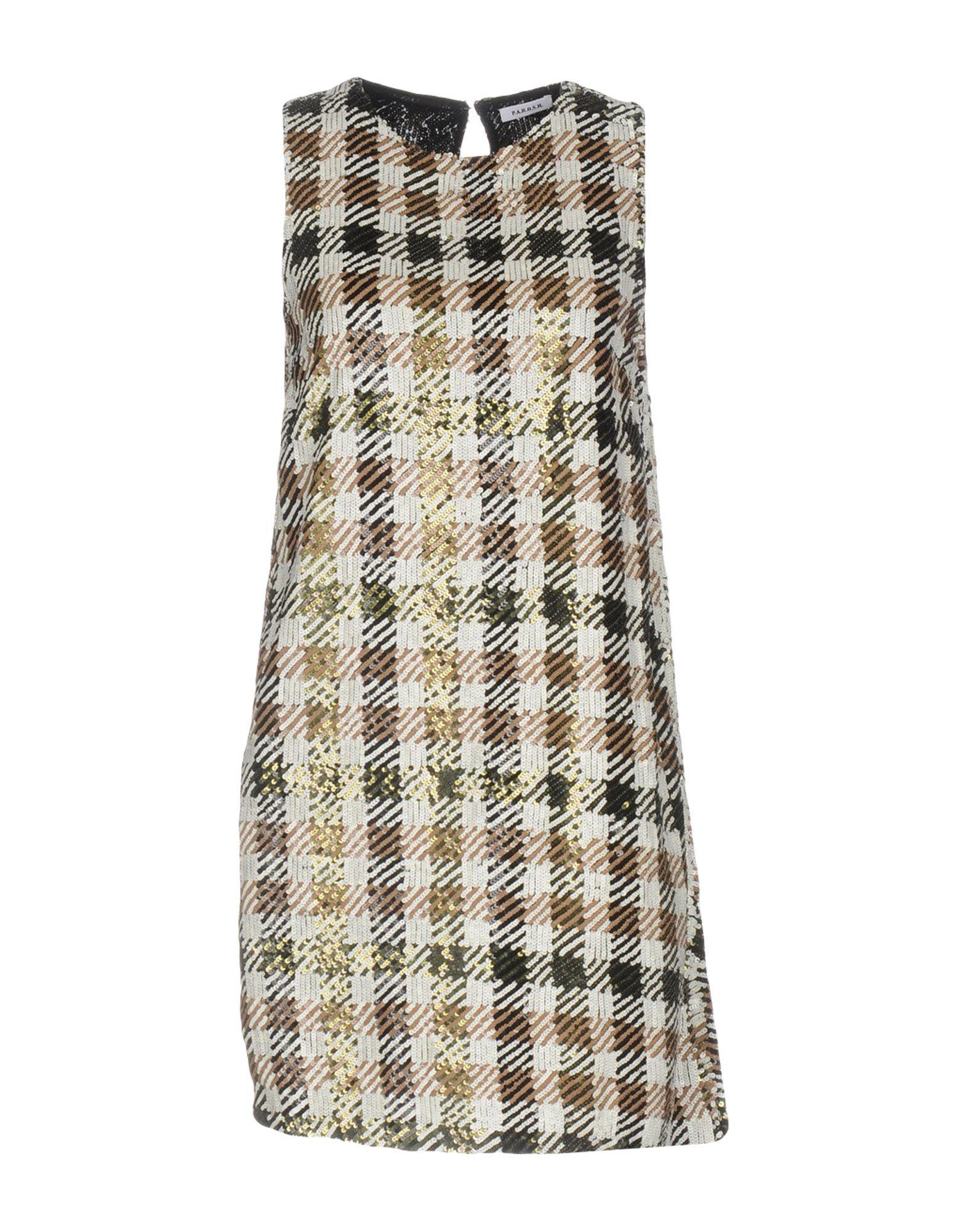Фото P.A.R.O.S.H. Короткое платье. Купить с доставкой