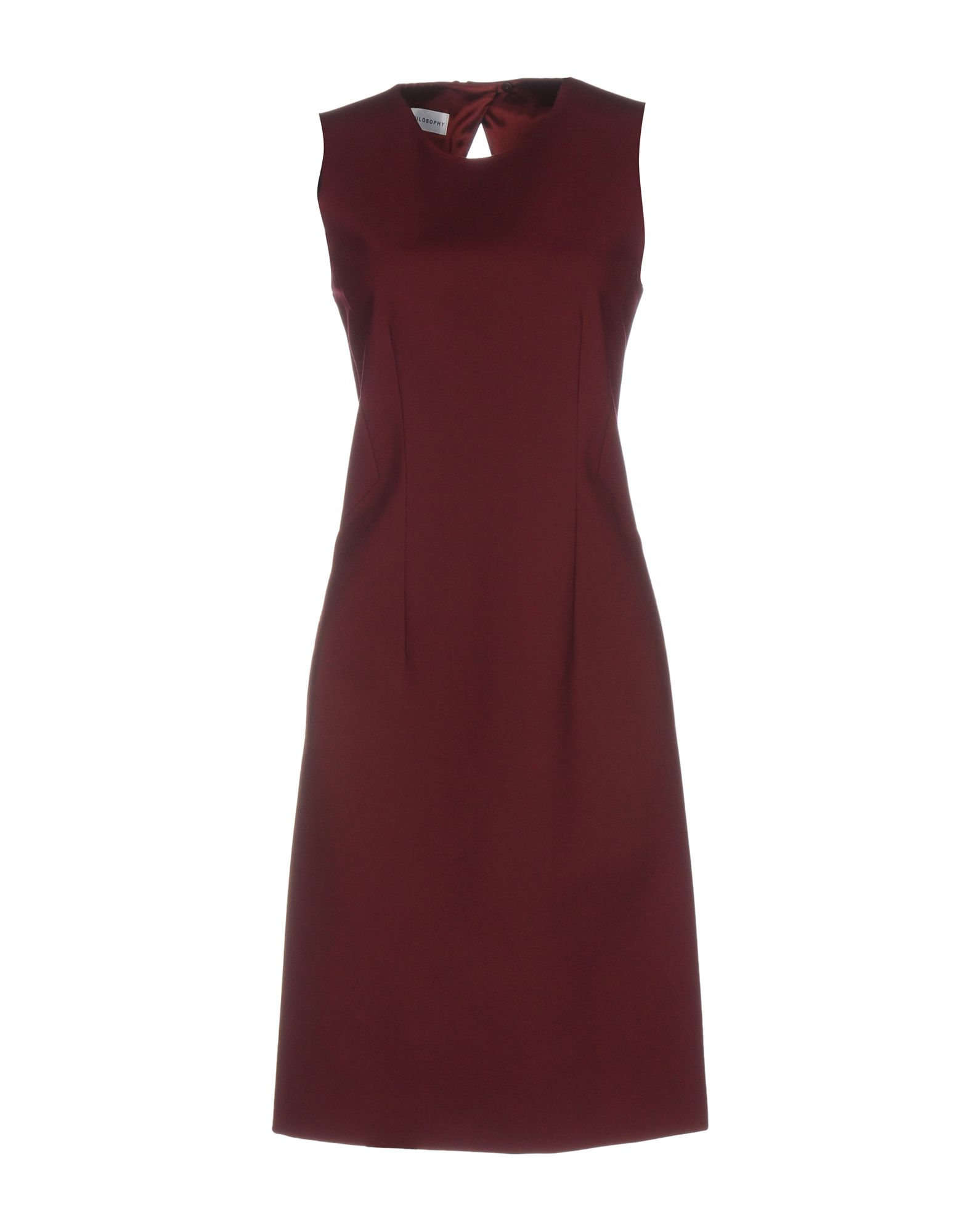 PHILOSOPHY di ALBERTA FERRETTI Платье до колена цены онлайн