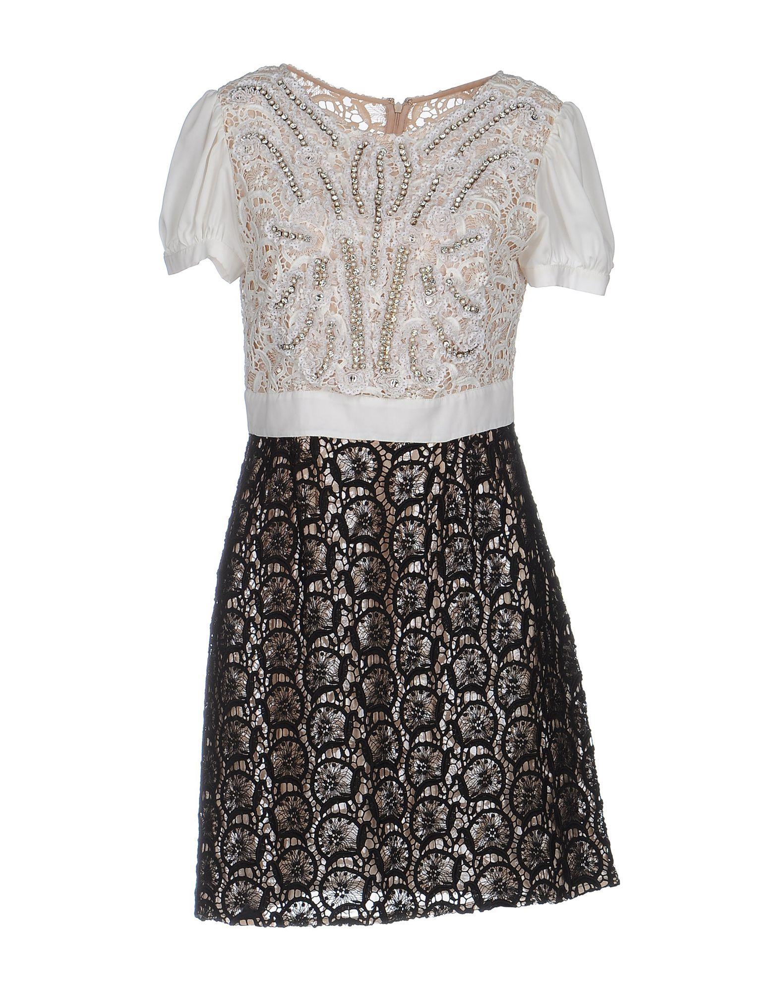 ELISABETTA FRANCHI GOLD Короткое платье