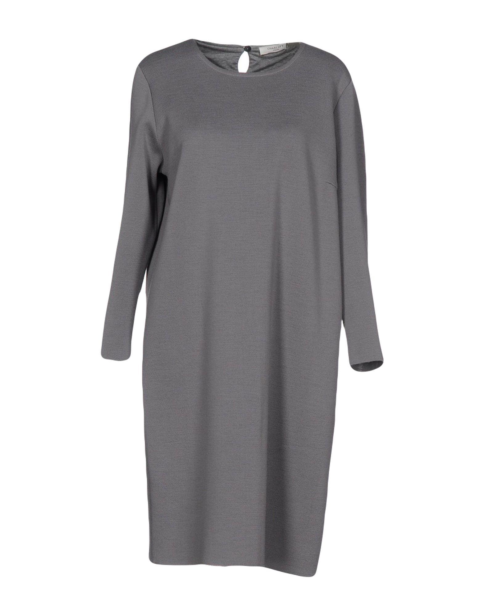 charlott платье 861 10 синий CHARLOTT Платье до колена
