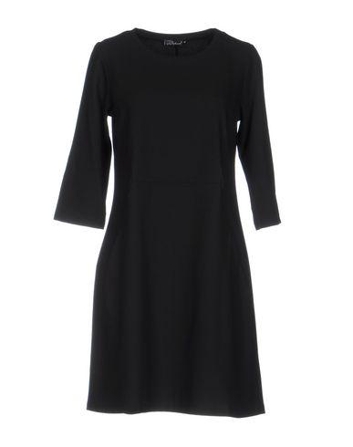 Фото - Женское короткое платье PIERRE MANTOUX черного цвета
