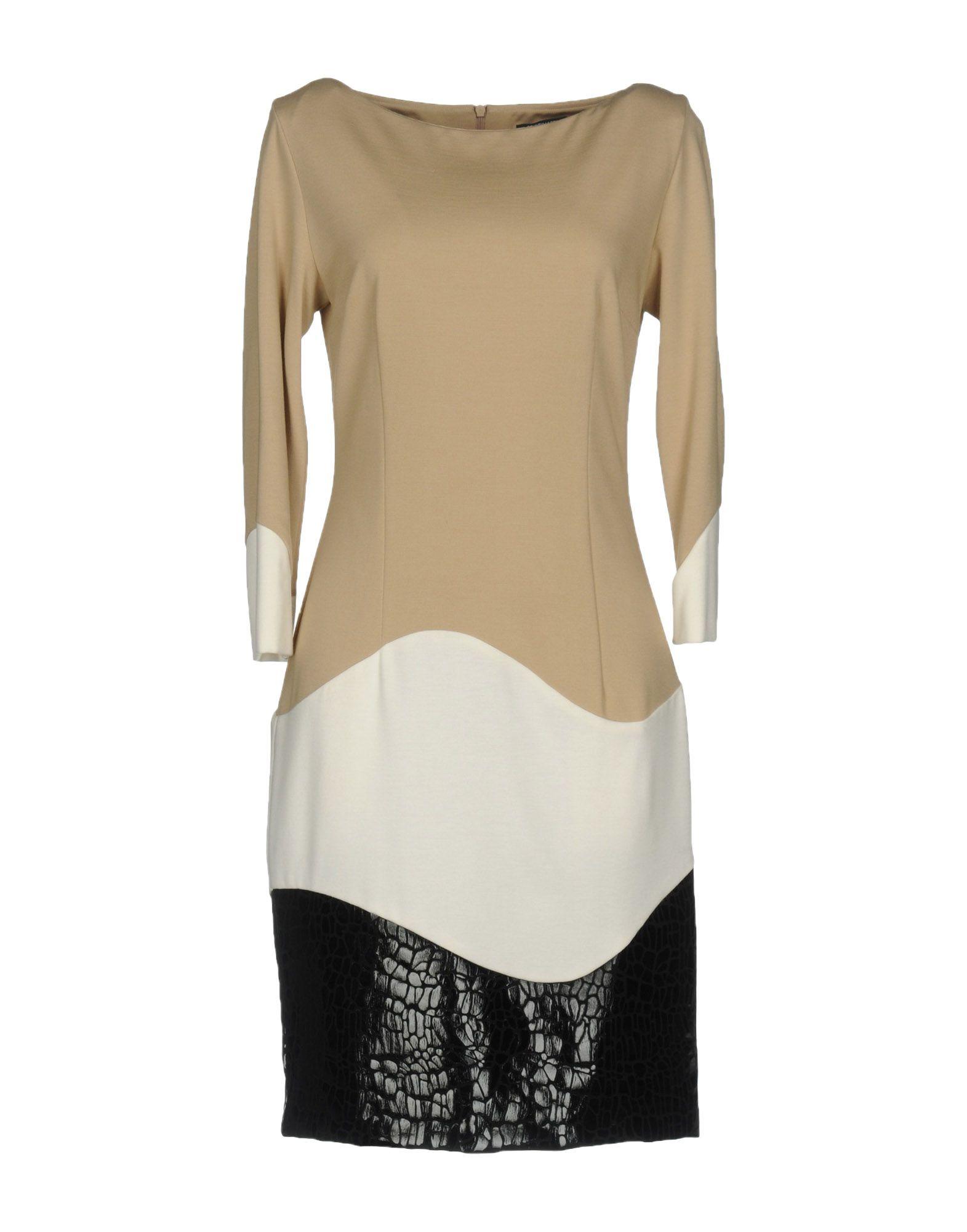 CRISTINAEFFE Damen Kurzes Kleid Farbe Beige Größe 6